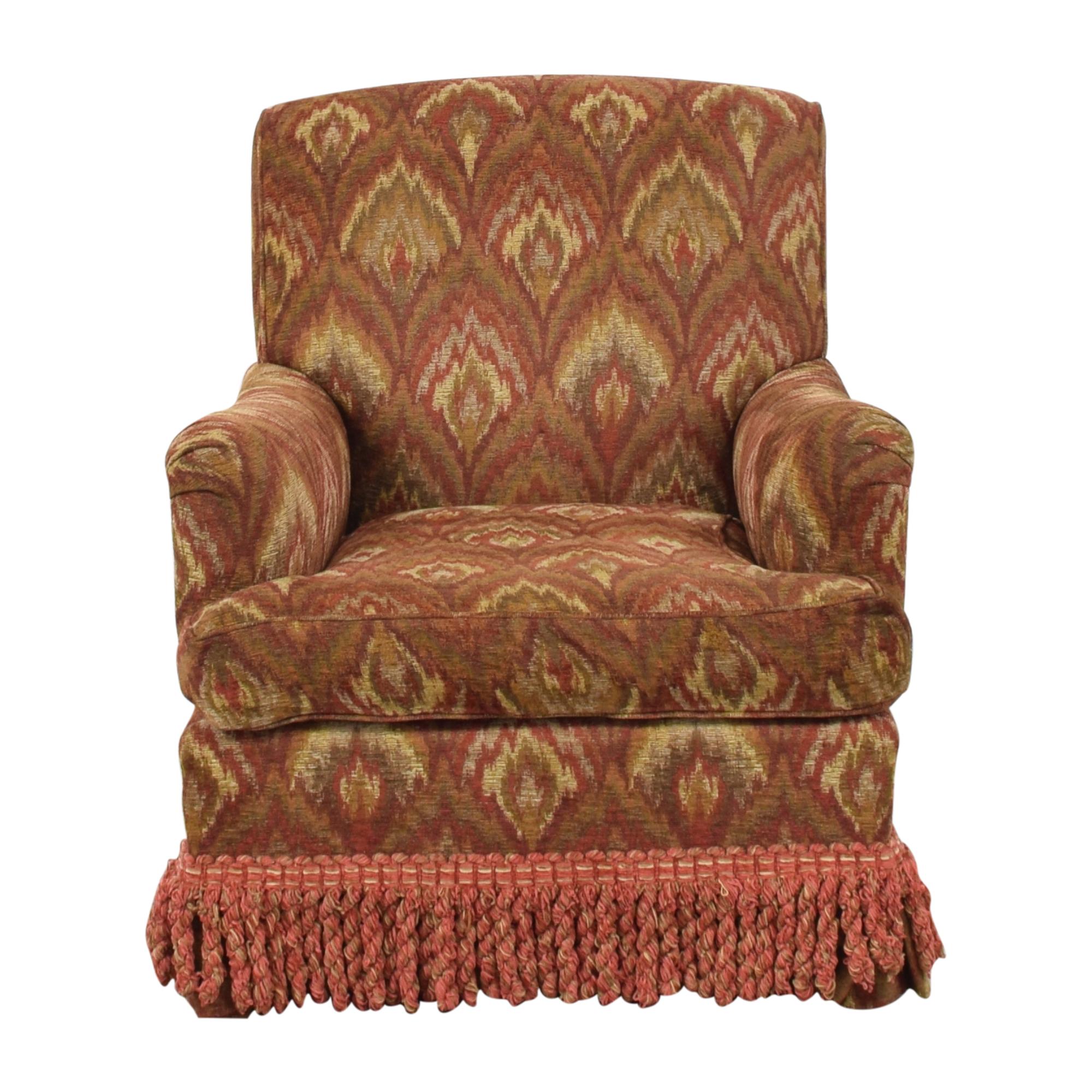 Custom Roll Arm Fringe Chair discount