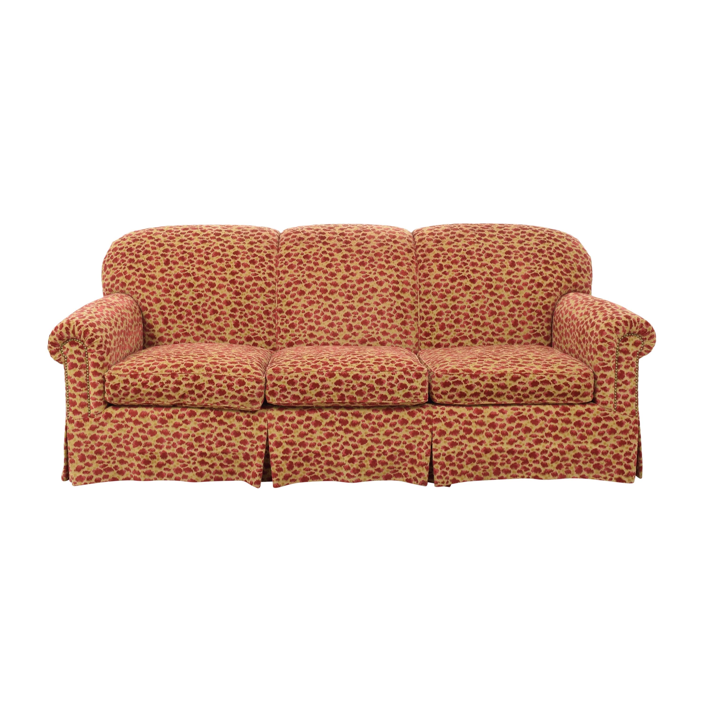Custom Upholstered Sofa dimensions