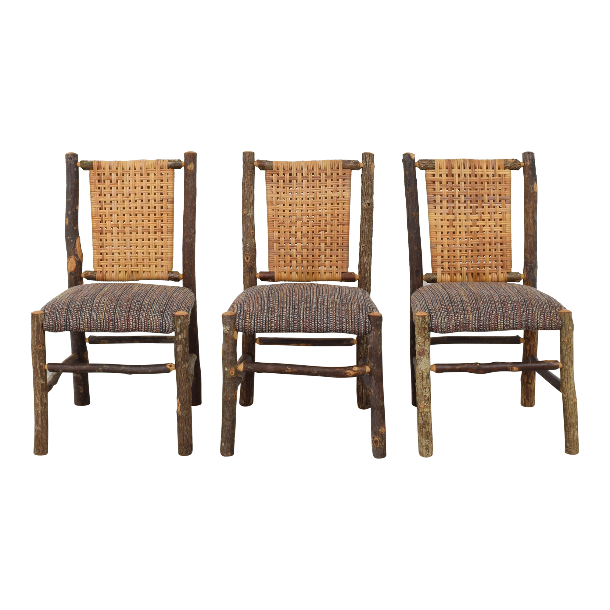 Custom Rustic Dining Side Chairs for sale