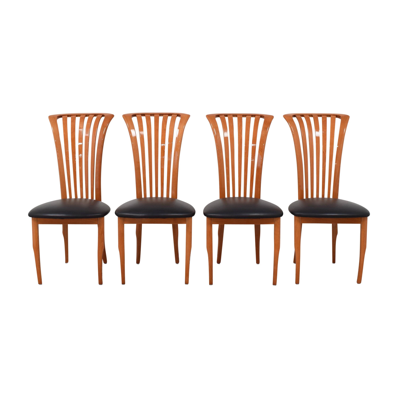 Pietro Costantini Pietro Costantini Modern Dining Chairs brown & black