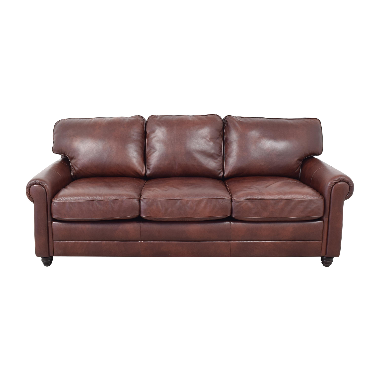 shop Wayfair Wayfair Conora Grey Lambdin Round Arm Sofa online