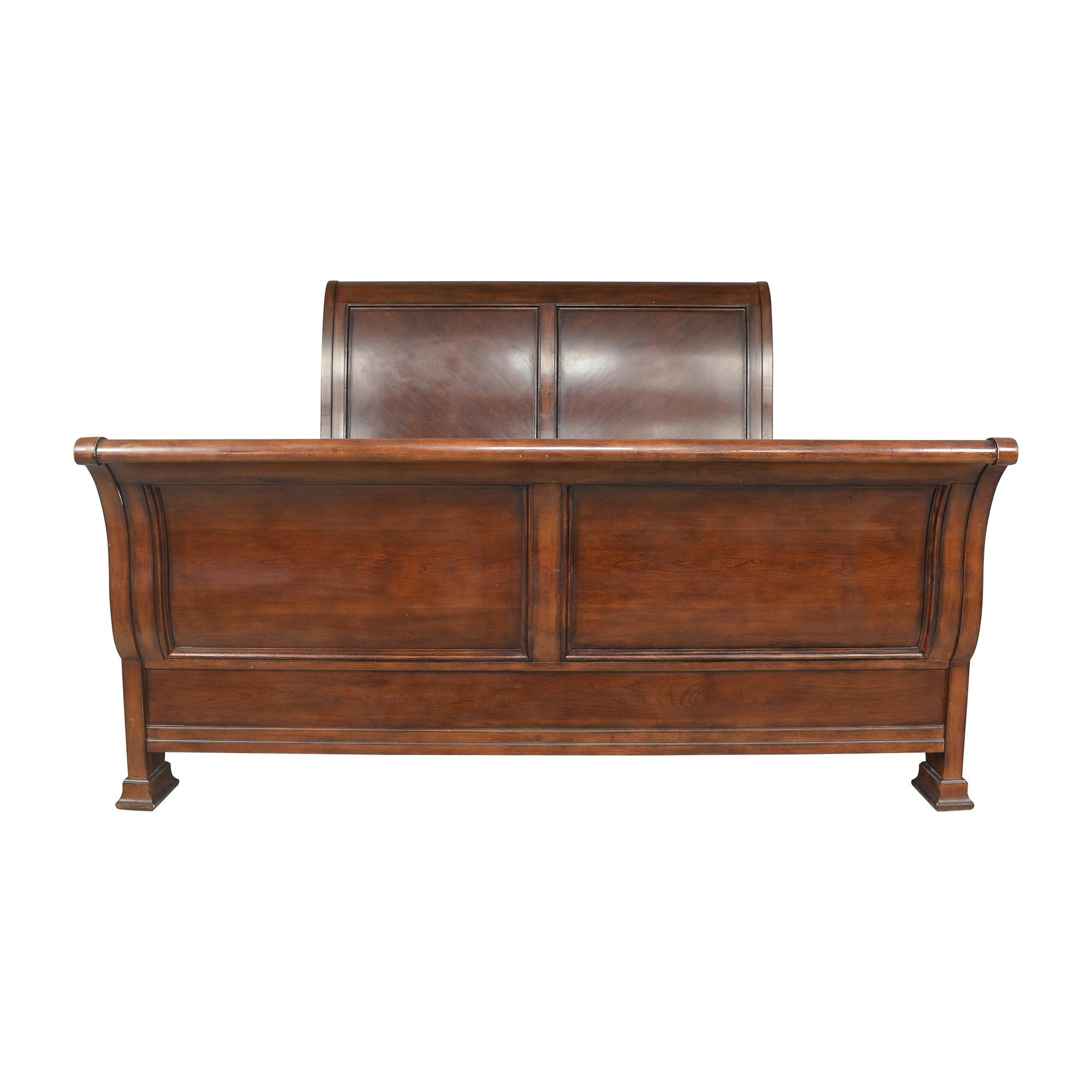 Bassett Furniture Bassett Furniture King Sleigh Bed on sale