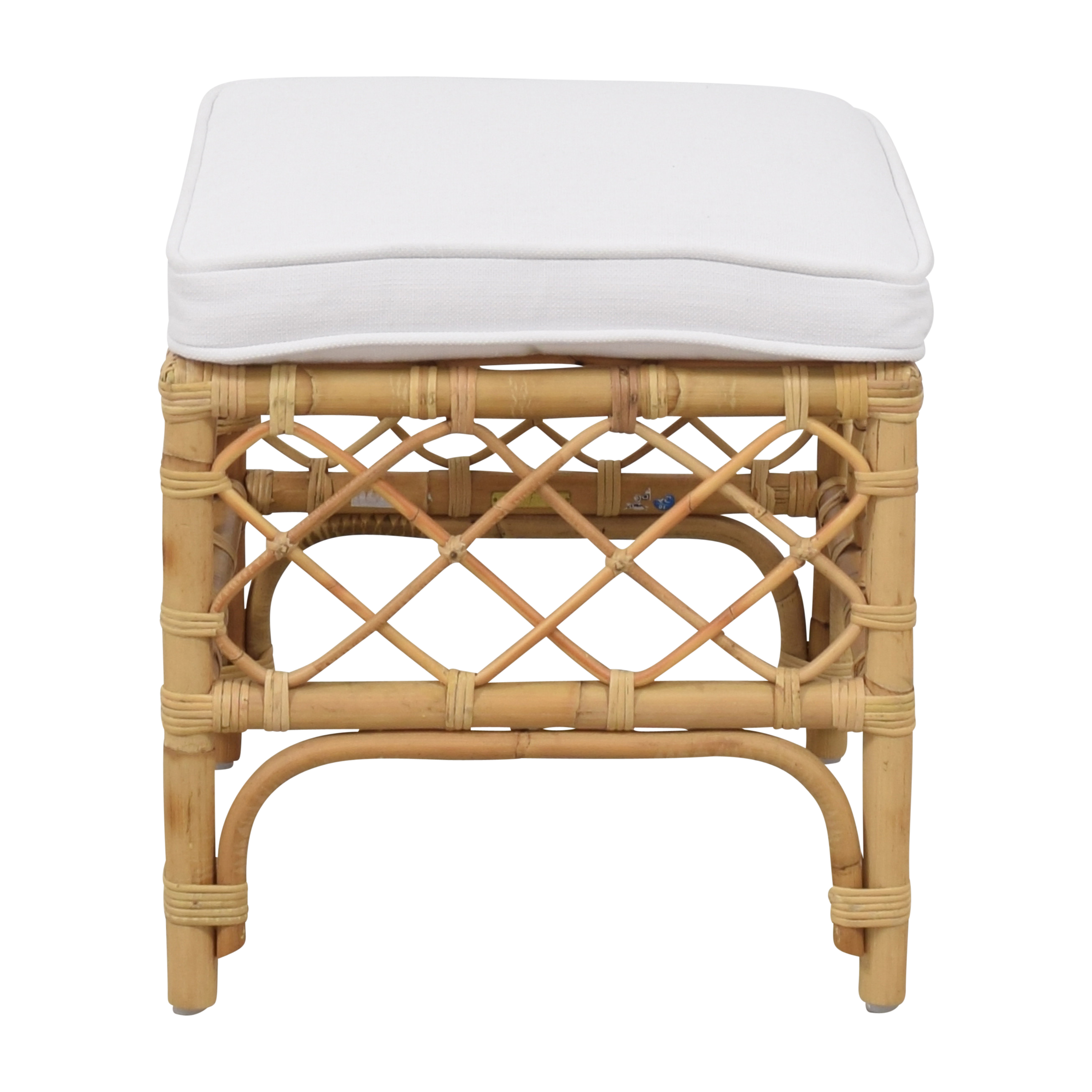 shop Serena & Lily Avalon Stool Serena & Lily Benches
