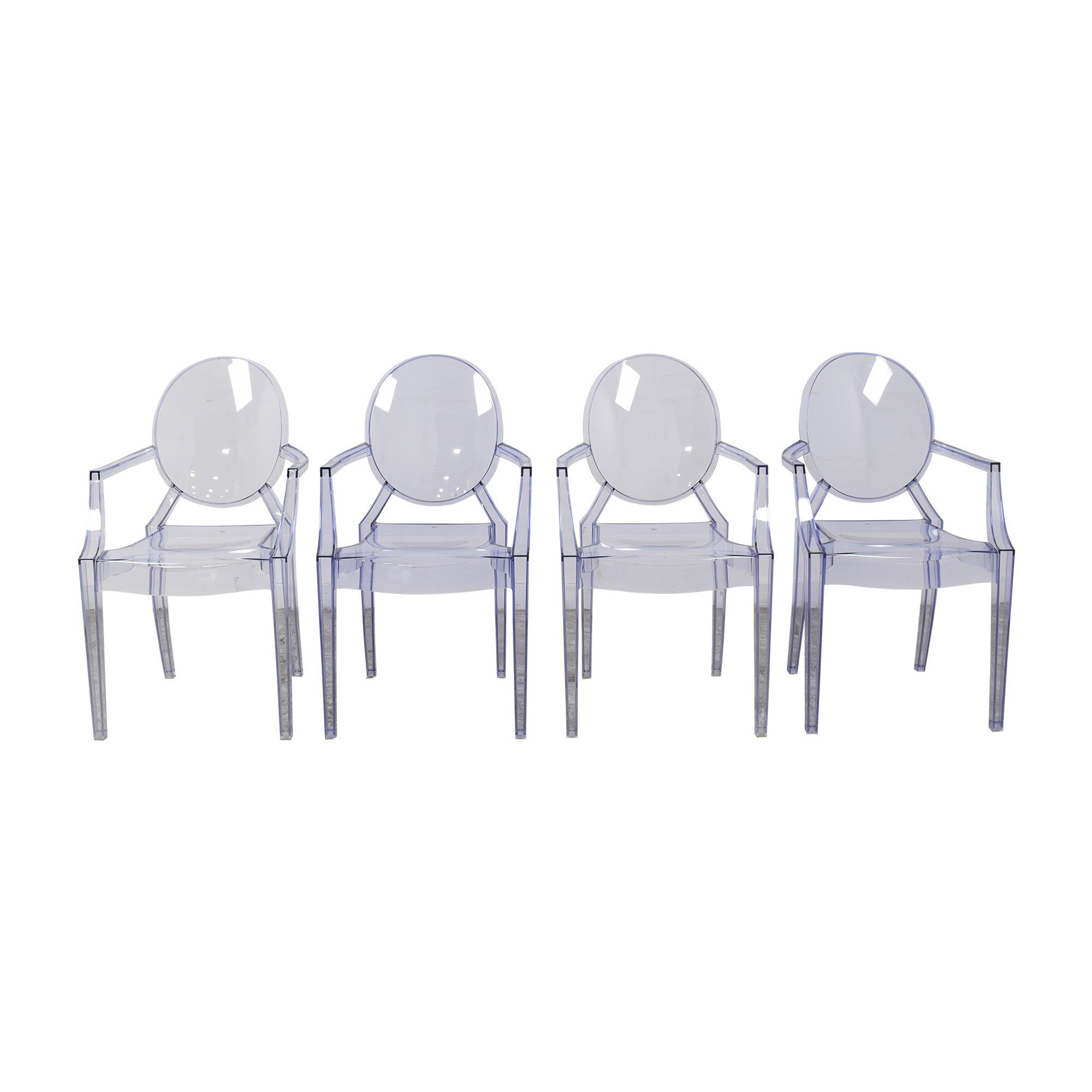 Kartell Kartell Louis Ghost Chairs dimensions