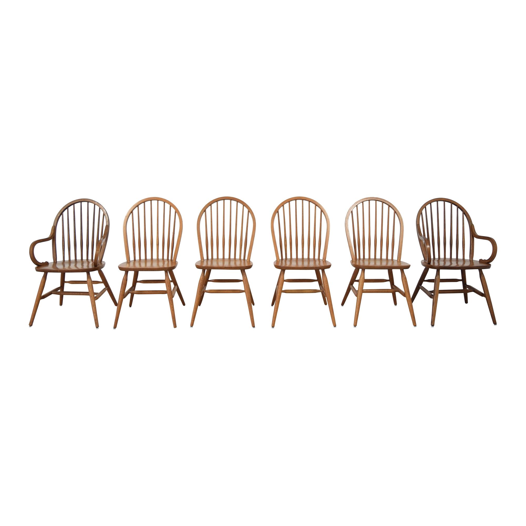 Keller Keller Windsor Dining Chairs pa