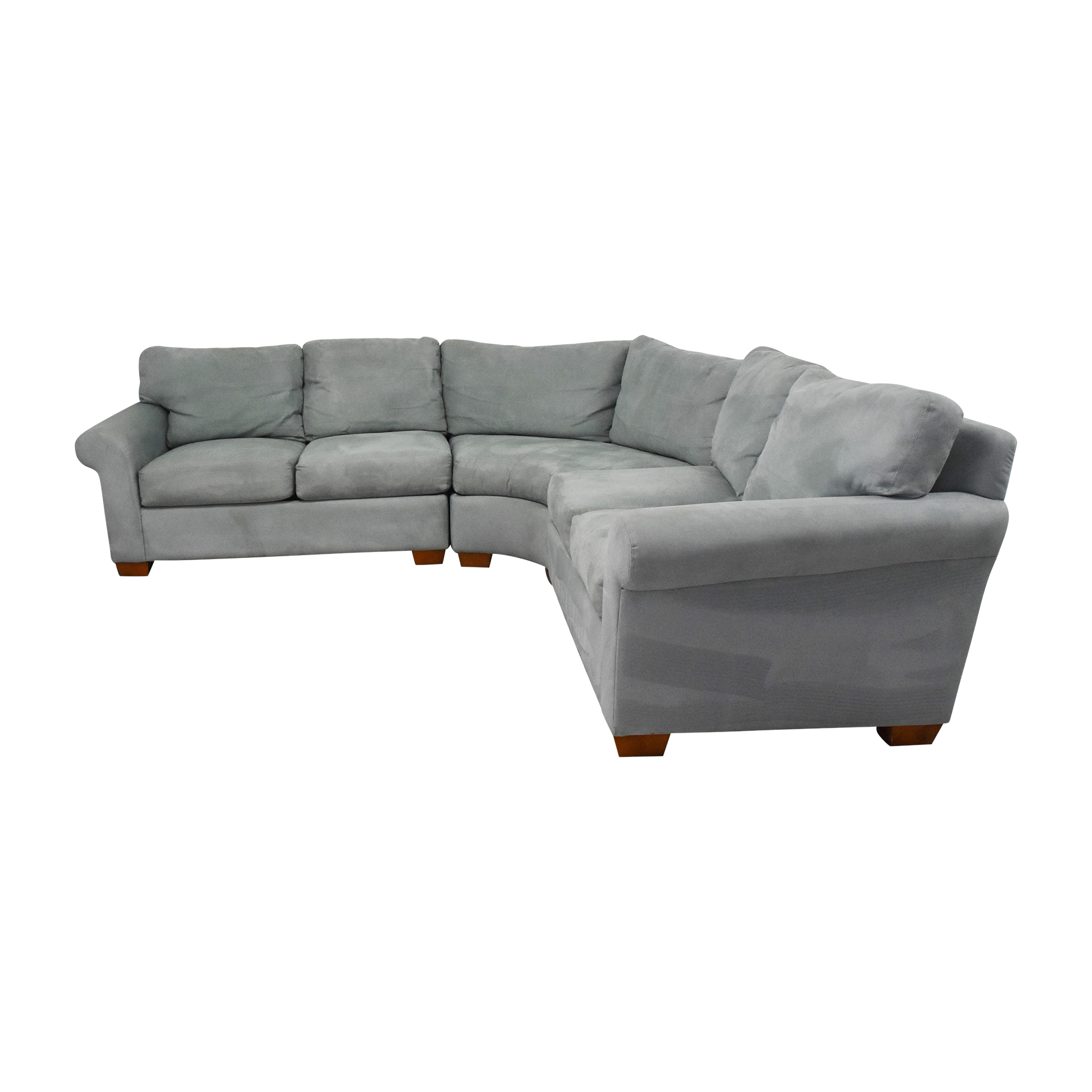 Youngs Furniture Youngs Furniture Three Piece Corner Sectional used
