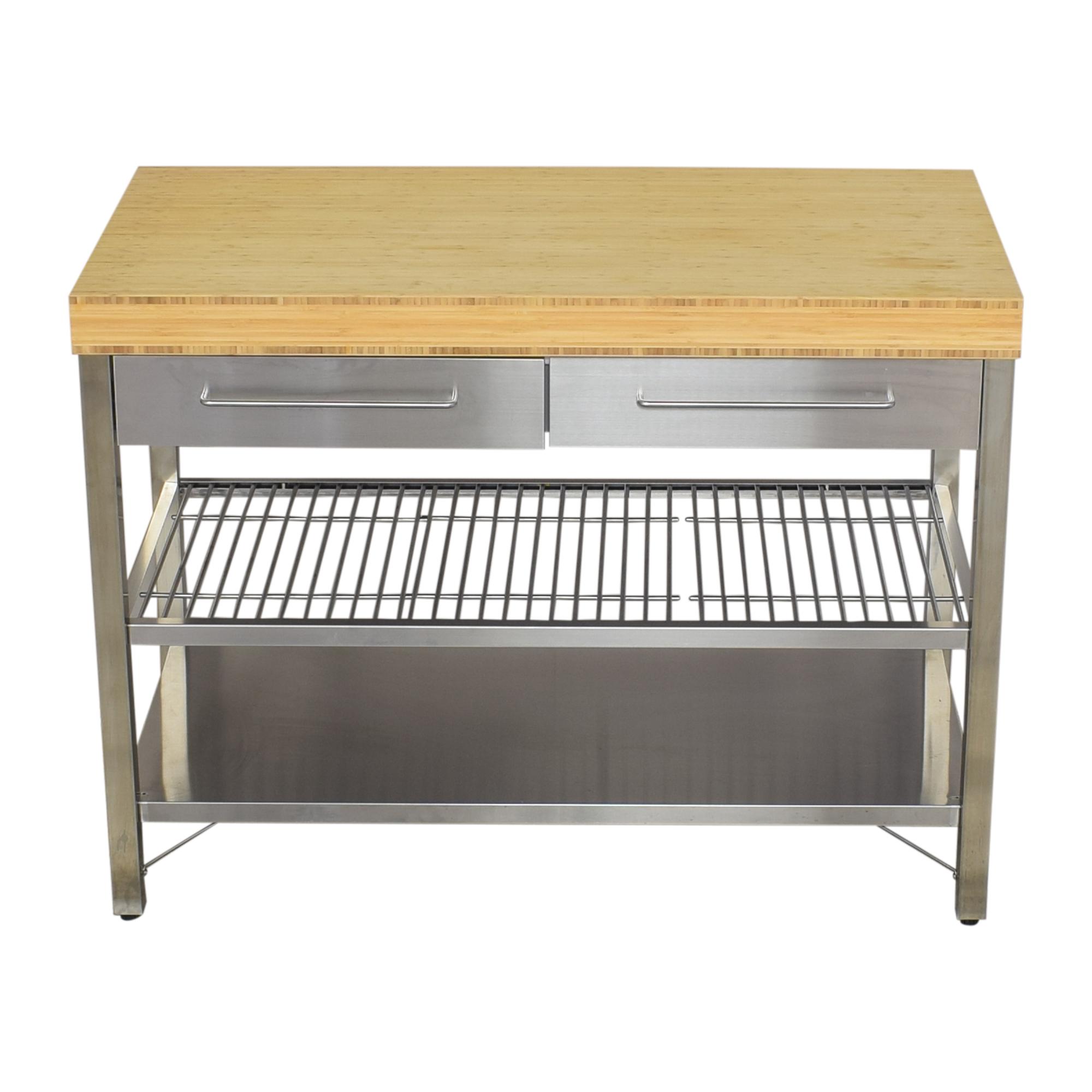 shop IKEA RIMFORSA Work Bench IKEA Utility Tables