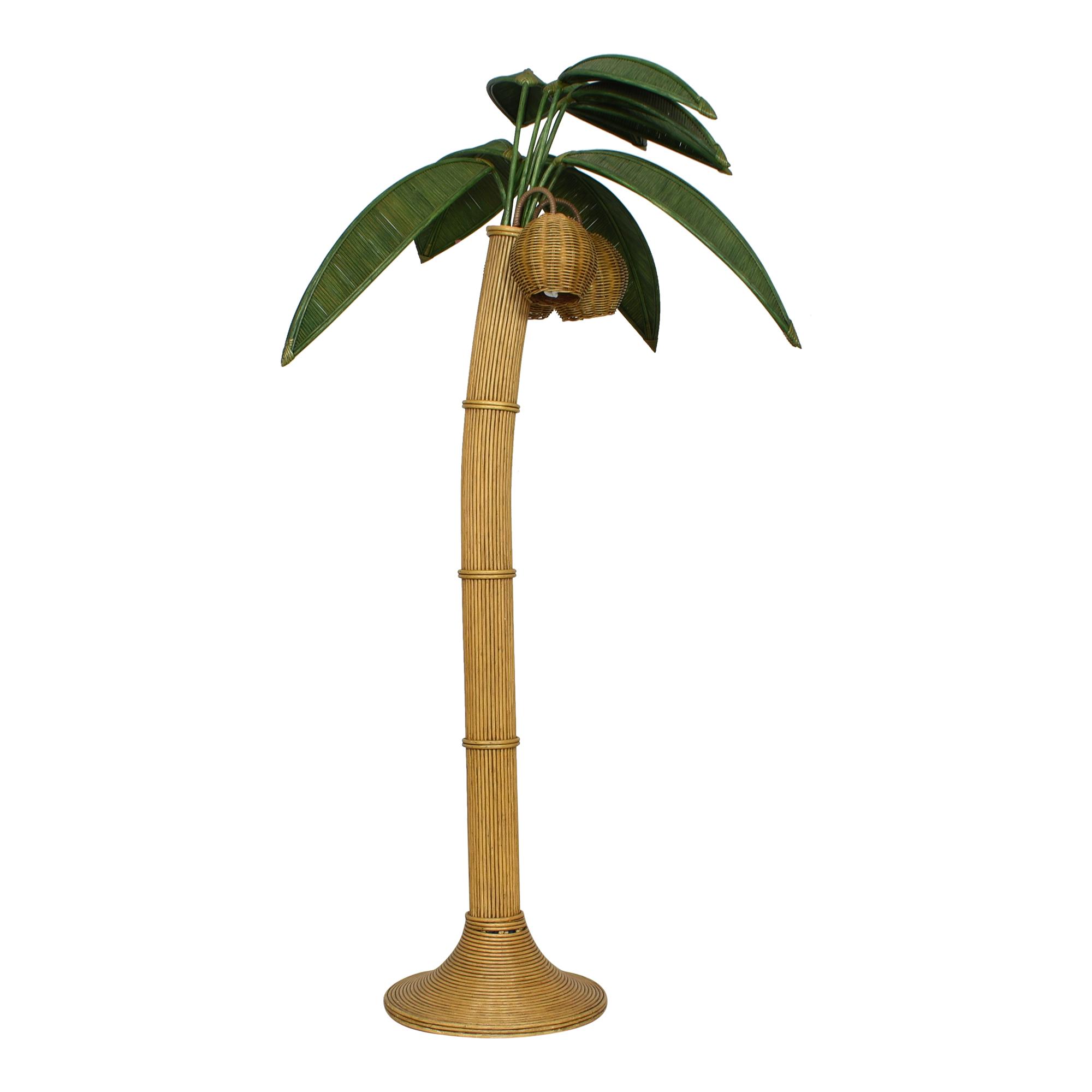 Custom Palm Tree-Style Floor Lamp price