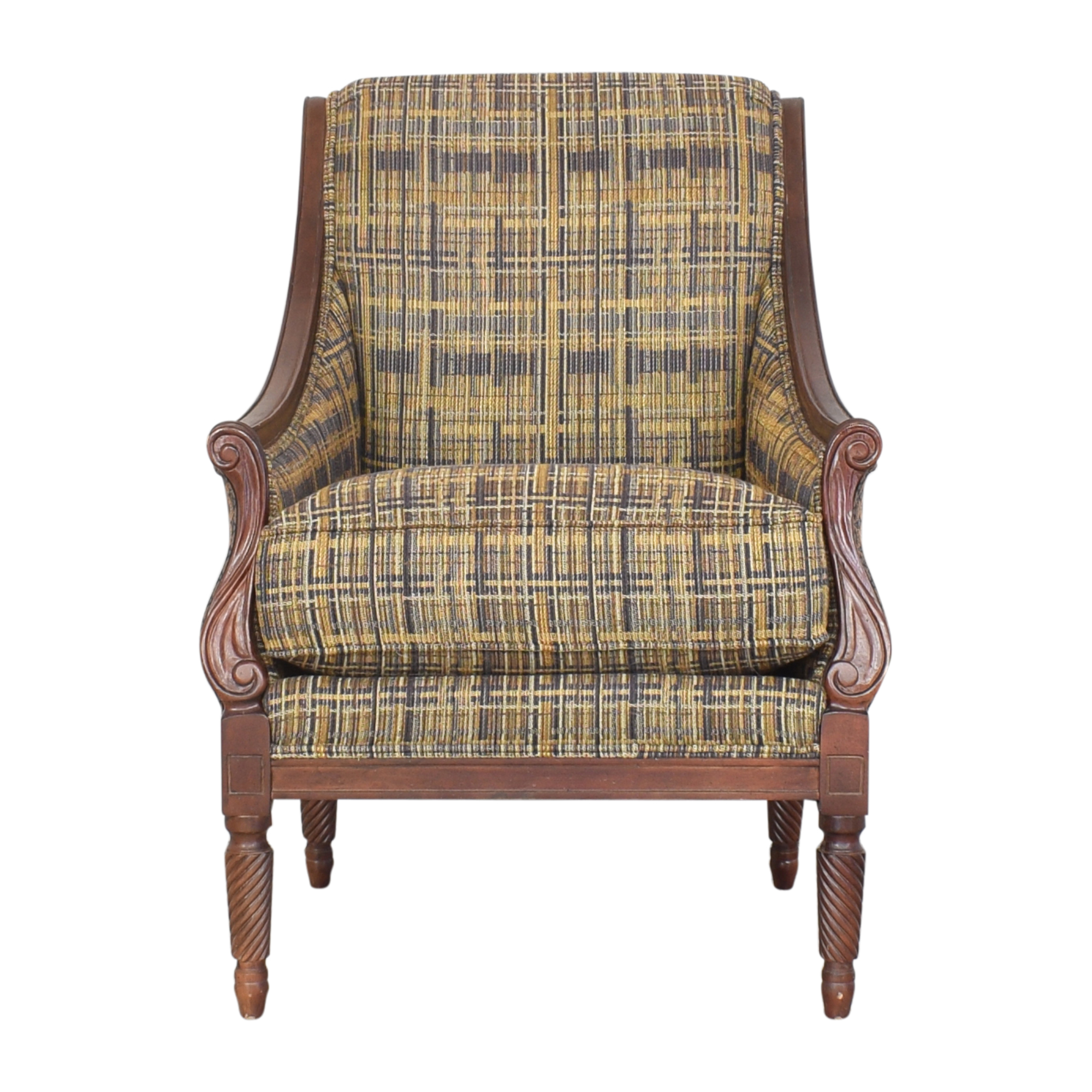 Clayton Marcus Clayton Marcus Louis XVI Style Accent Chair nyc