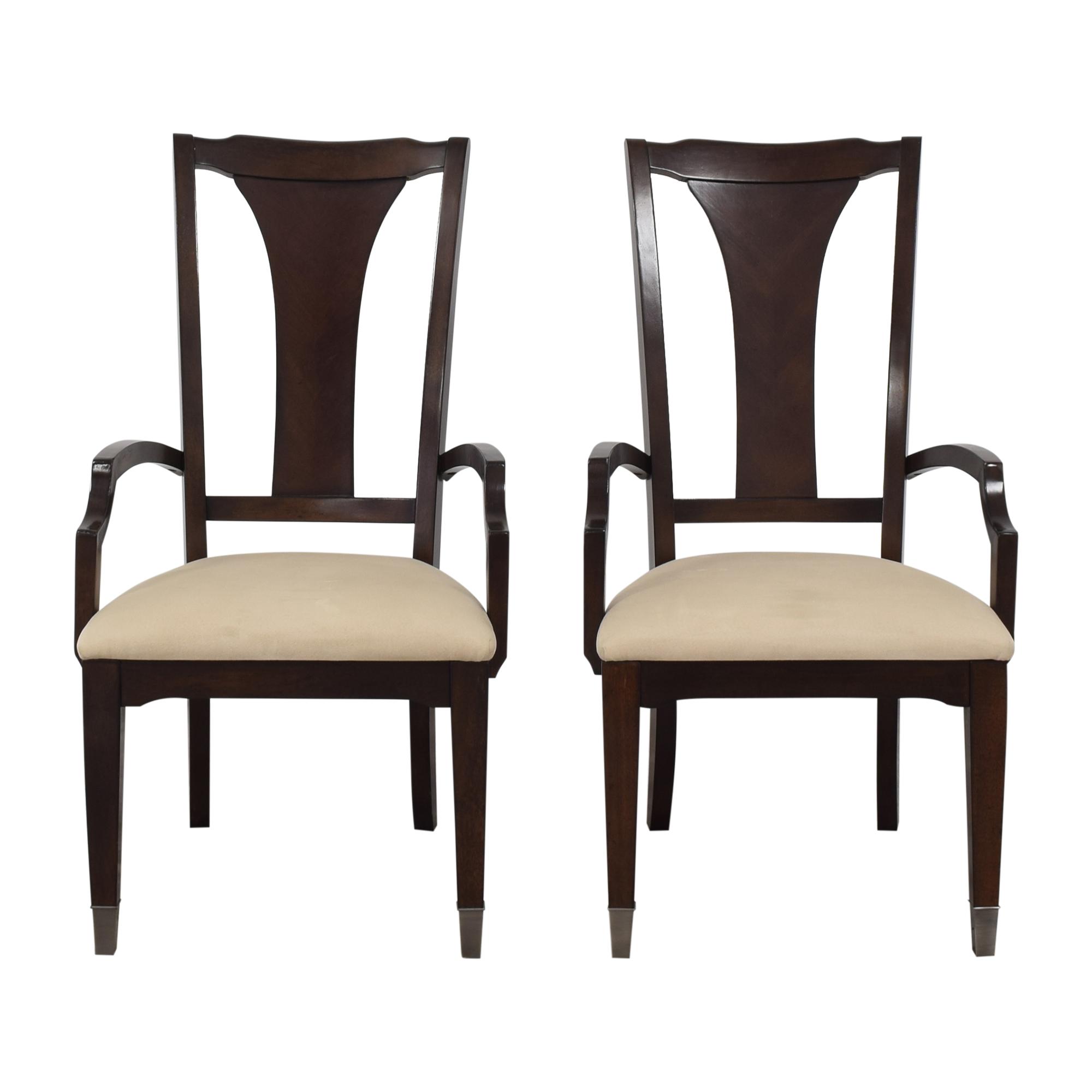 Bassett Furniture Cosmopolitan Dining Arm Chairs Bassett Furniture