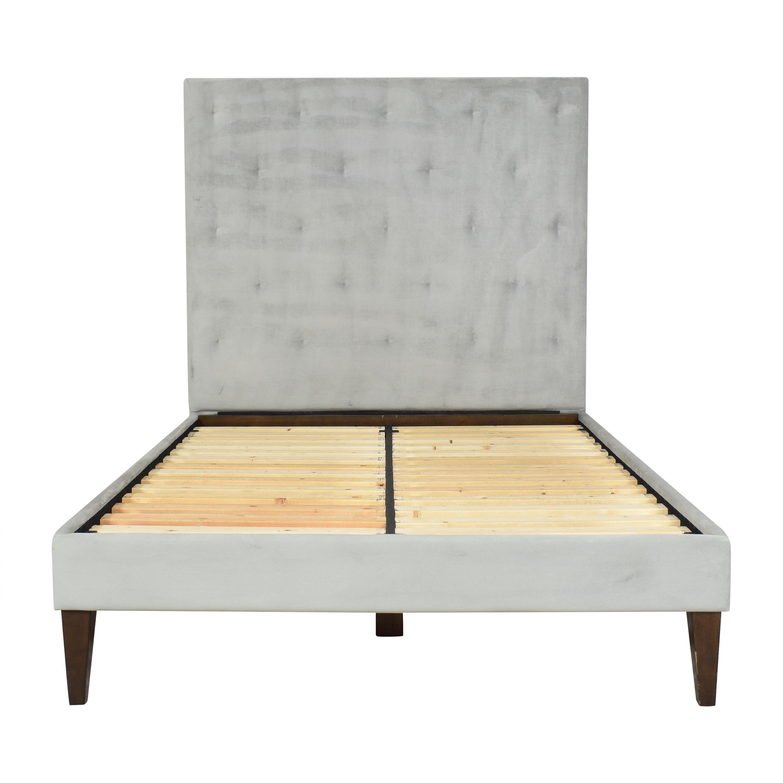 West Elm West Elm Diamond Tufted Full Bed used