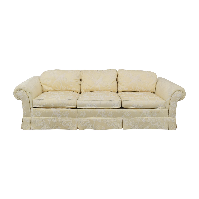 Drexel Heritage Drexel Heritage Skirted Roll Arm Sofa pa