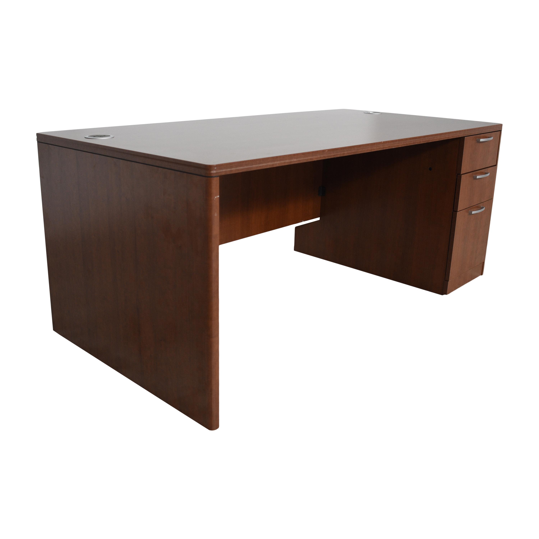 Hon Hon Single Pedestal Desk