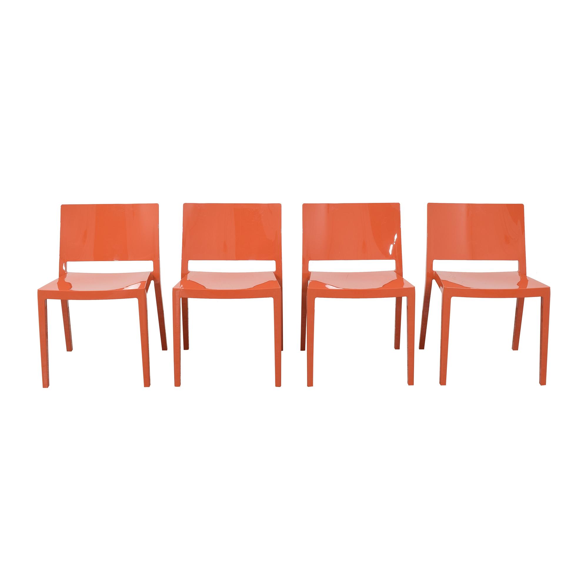 Kartell Kartell Lizz Chairs Orange
