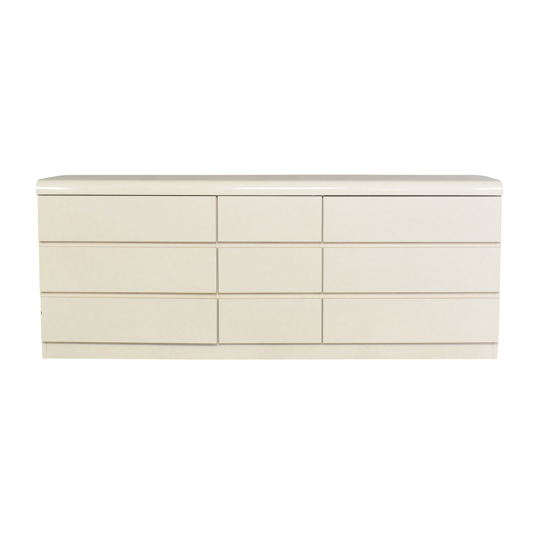 Postmodern-Style Triple Dresser second hand