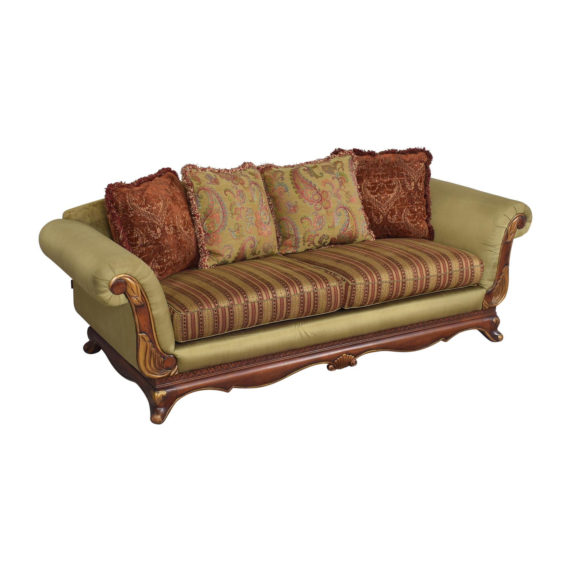 buy Raymour & Flanigan Raymour & Flanigan Roll Arm Sofa online