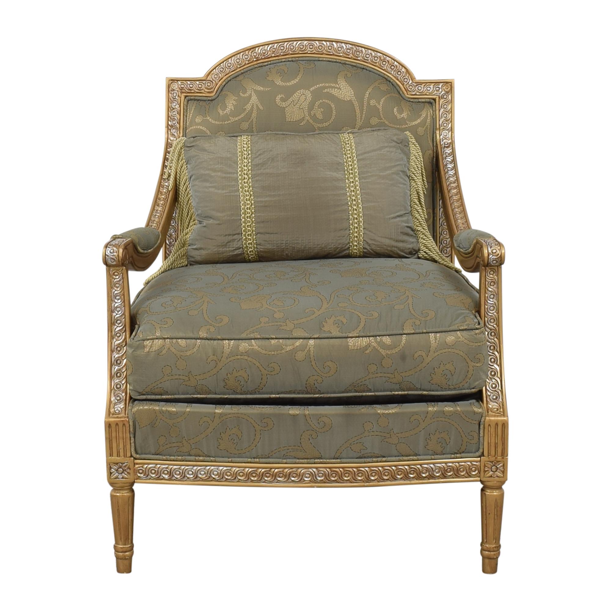 Safavieh Safavieh Romance Chair green & gold