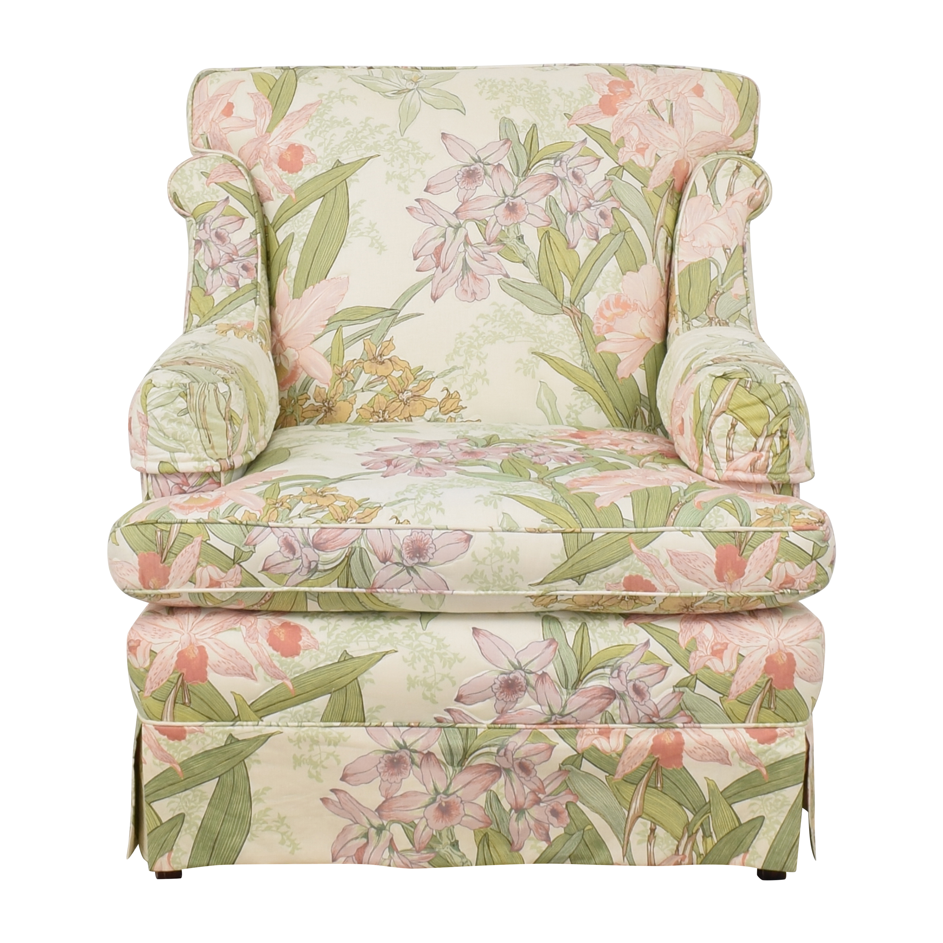 Drexel Heritage Drexel Heritage Floral Accent Chair dimensions