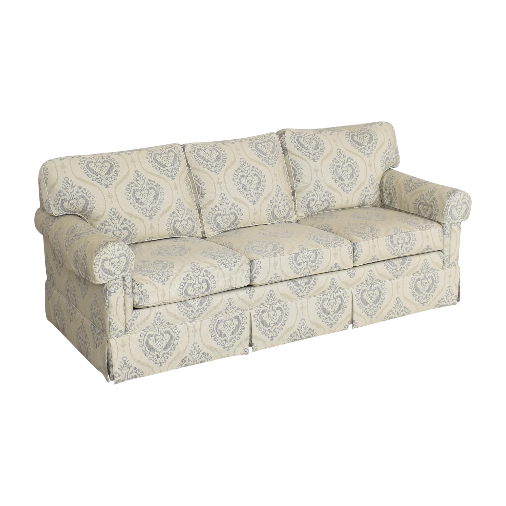 Ethan Allen Ethan Allen Three Cushion Skirted Sofa ma