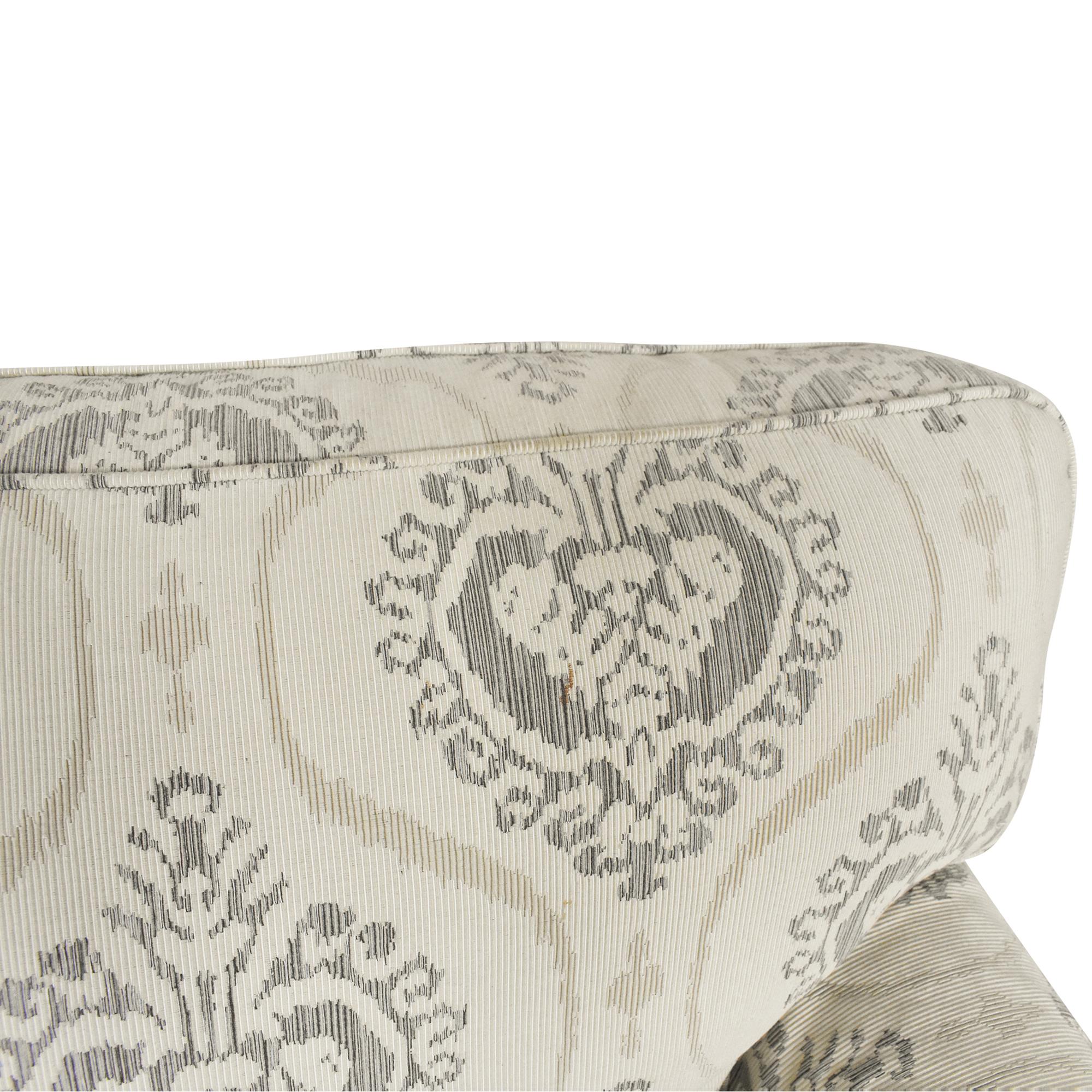 Ethan Allen Ethan Allen Three Cushion Skirted Sofa ct