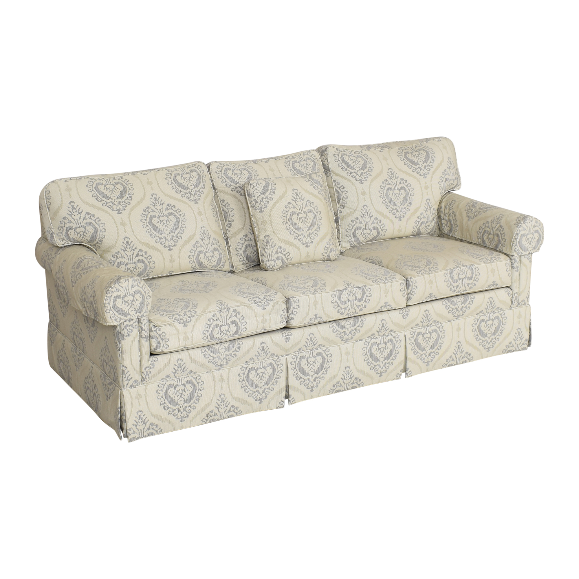 Ethan Allen Ethan Allen Three Cushion Skirted Sofa coupon