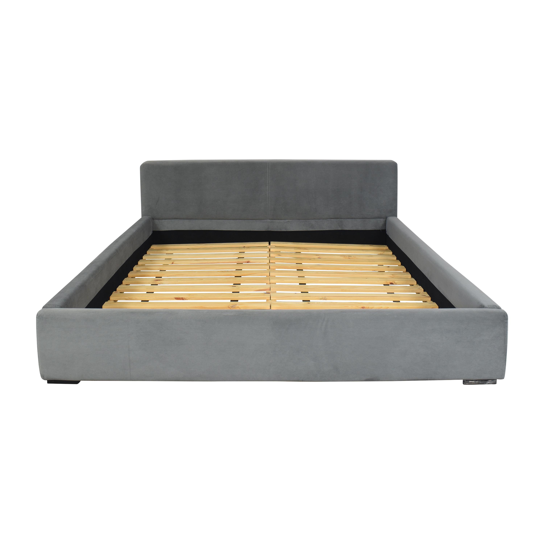 CB2 CB2 Upholstered Queen Bed nj