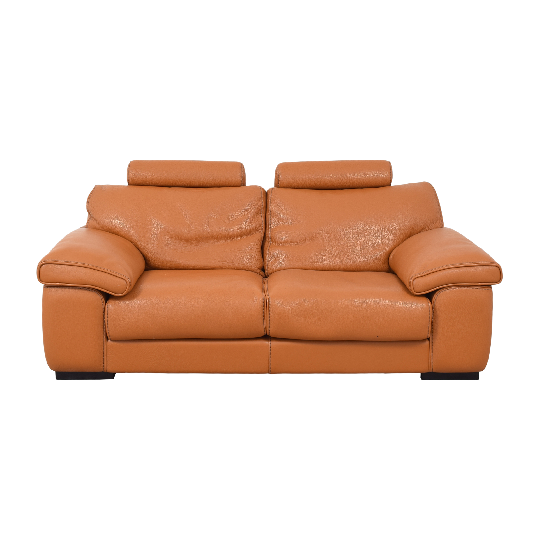Roche Bobois Roche Bobois Two Cushion Sofa dimensions