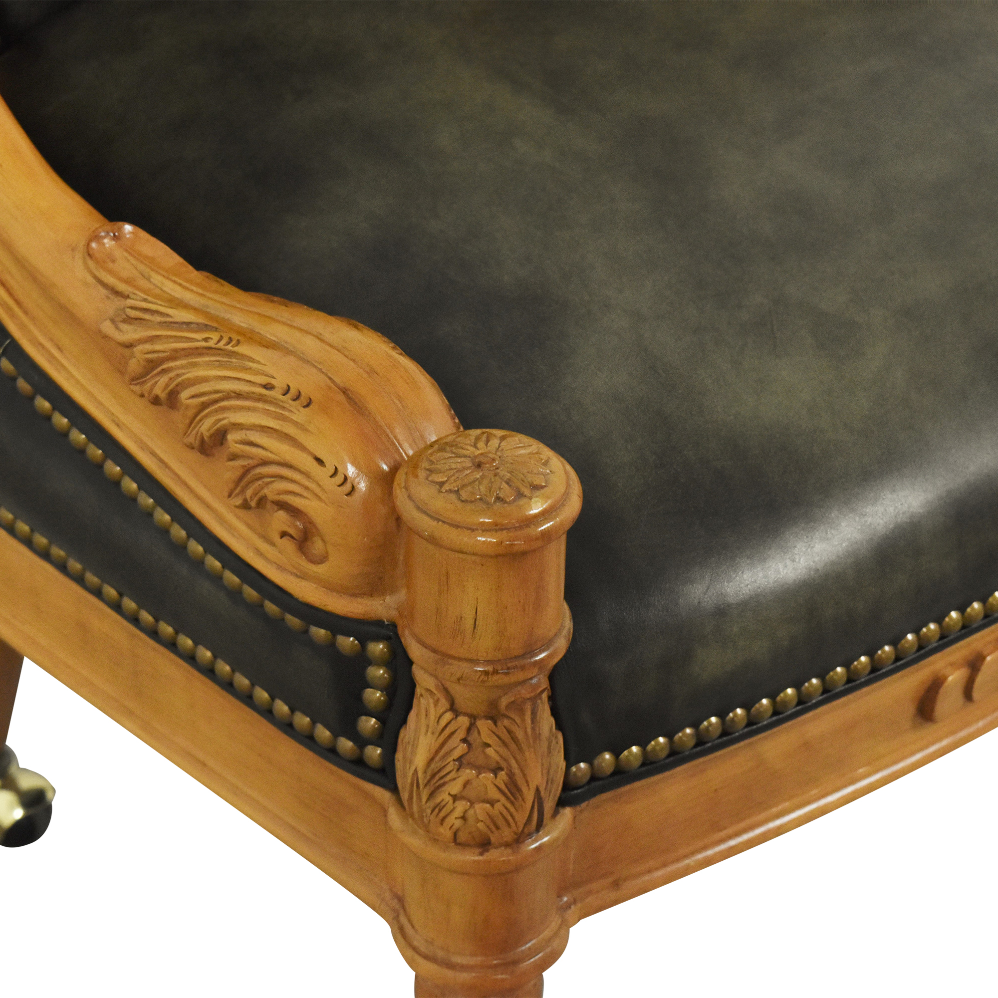 shop  Tufted Barrel Chair on Casters online