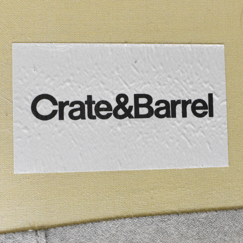 Crate & Barrel Crate & Barrel Tribeca Sofa nj