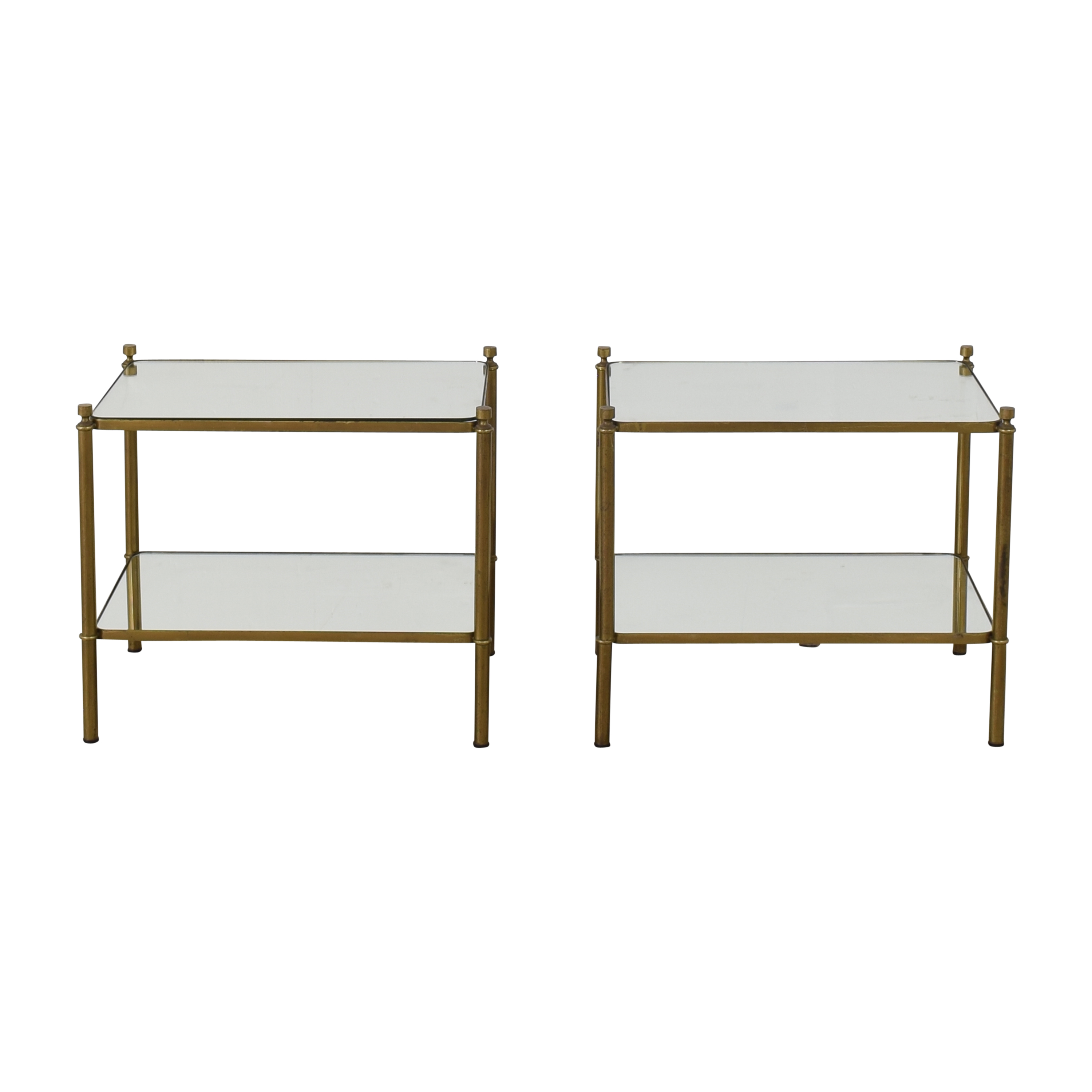 Mirrored Side Tables for sale