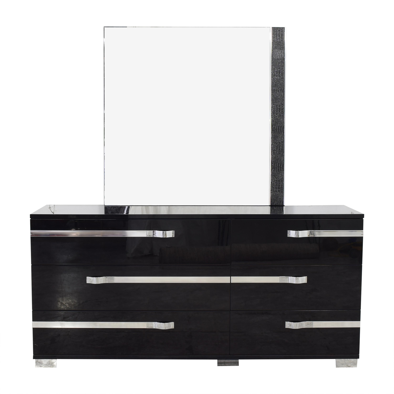 Volare Italian Dresser with Mirror discount