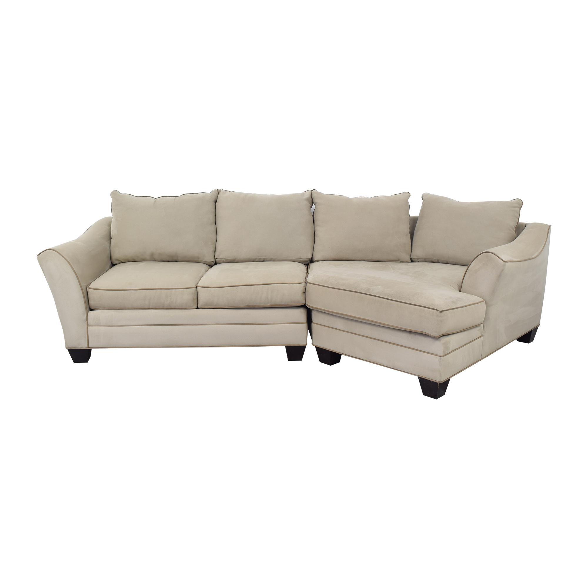 HM Richards Furniture HM Richards Furniture Cuddler Sectional Sofa on sale