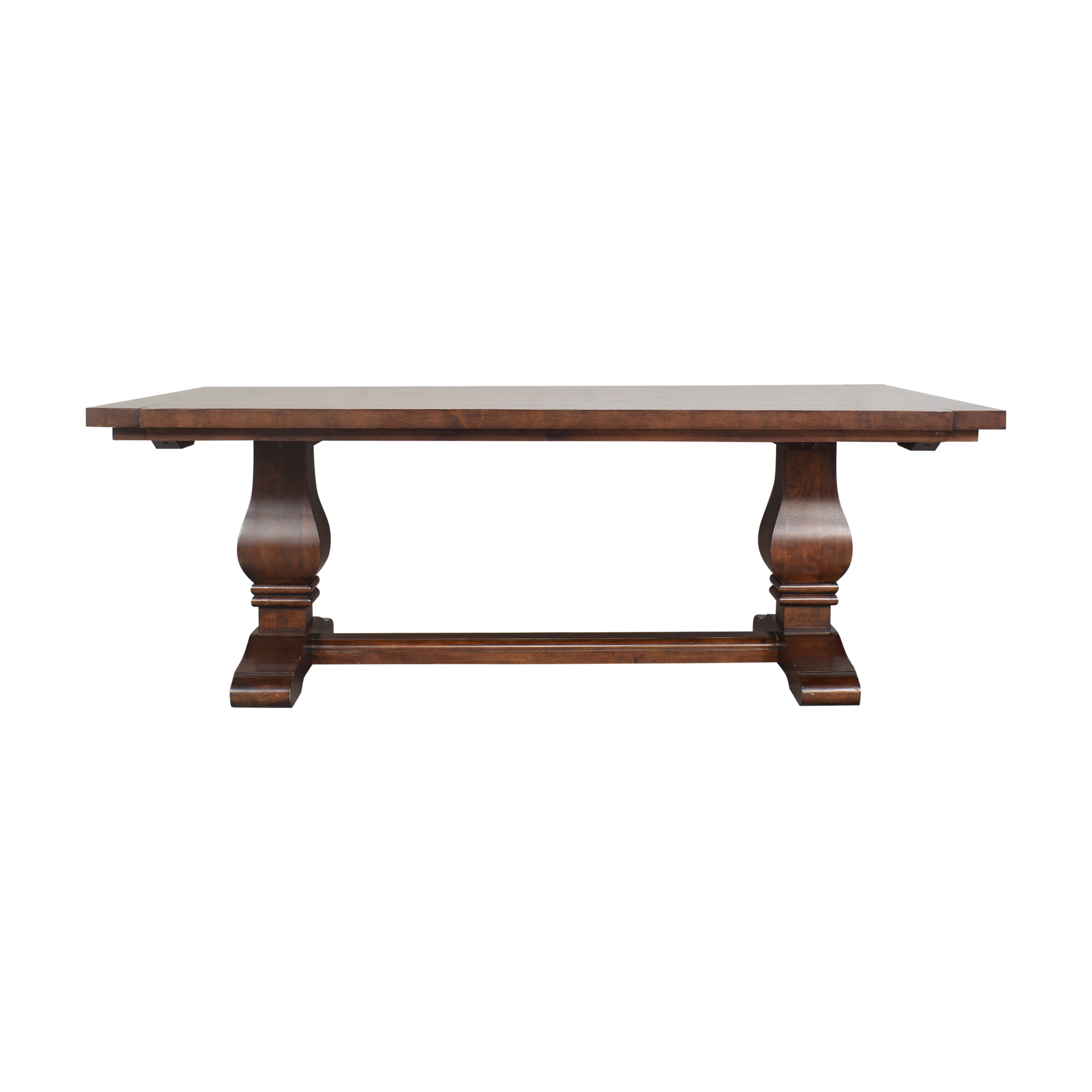 Traditional Pedestal Dining Room Table for sale