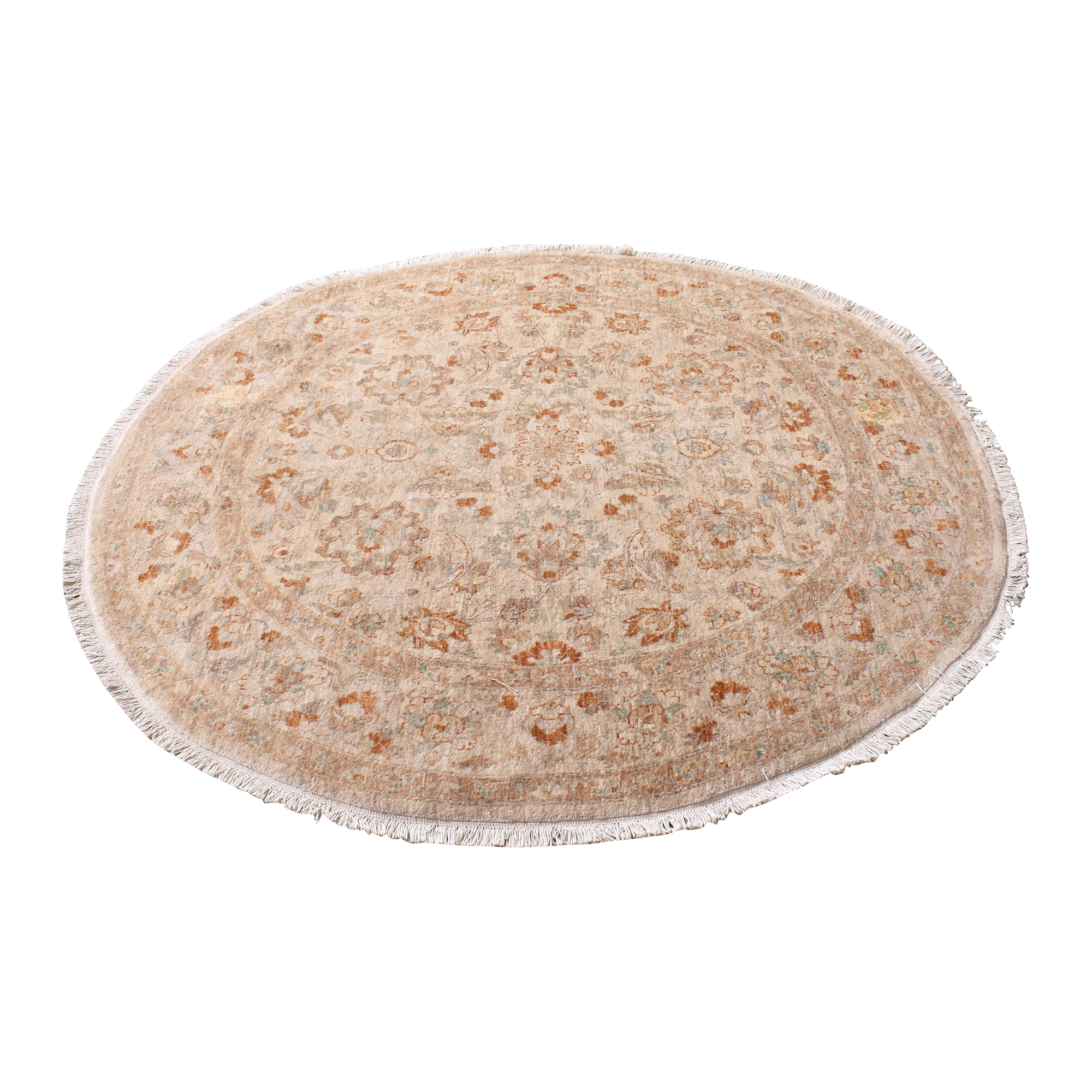 Round Patterned Area Rug for sale