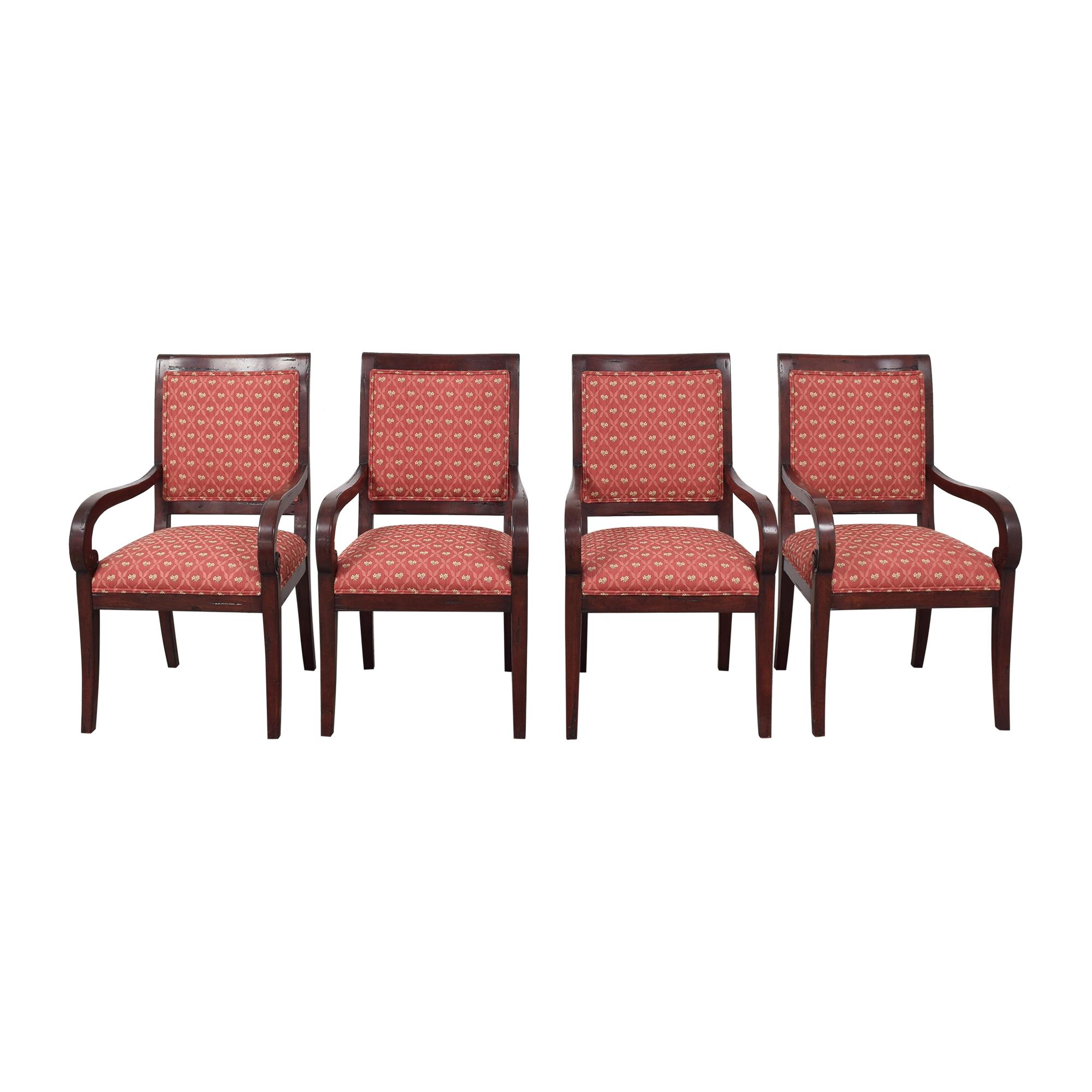 Guy Chaddock & Co. Custom Fordham Dining Arm Chairs / Chairs