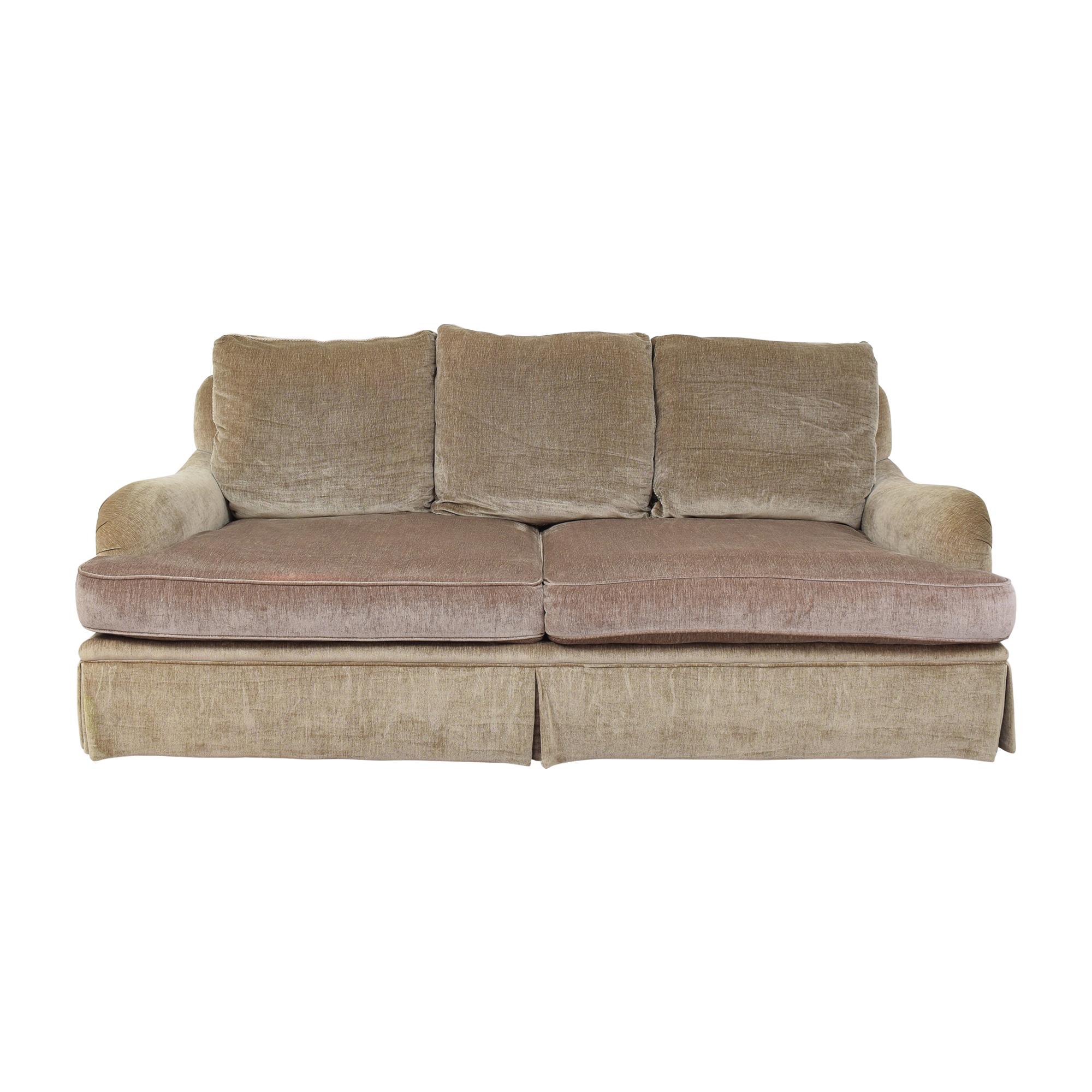 shop Custom Two Cushion Sofa