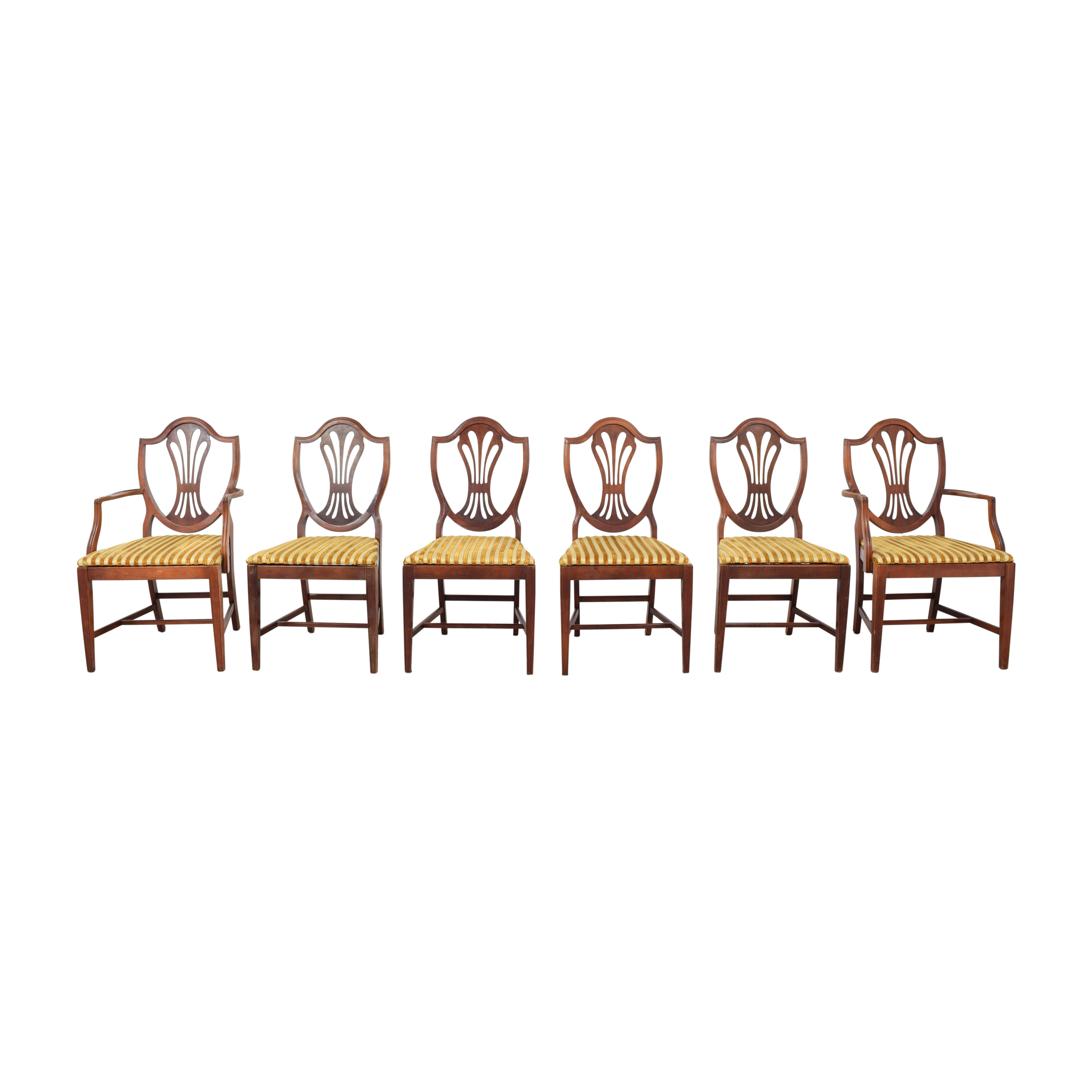 buy Shield Back Upholstered Dining Chairs  Chairs