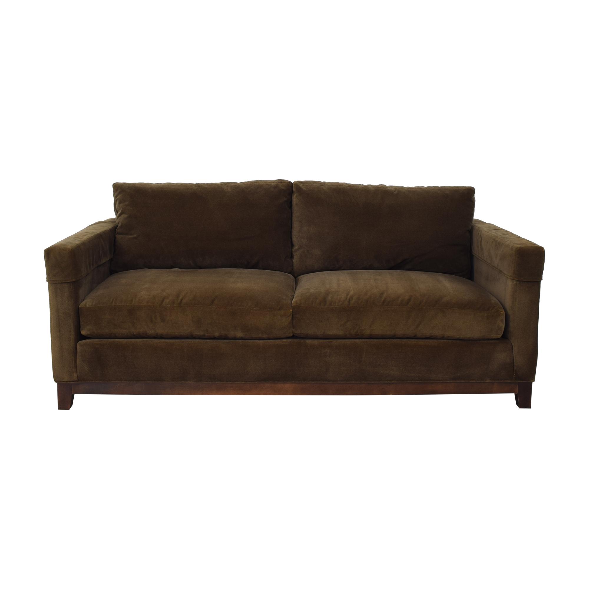 American Home Furniture American Home Furniture Two Cushion Sofa on sale