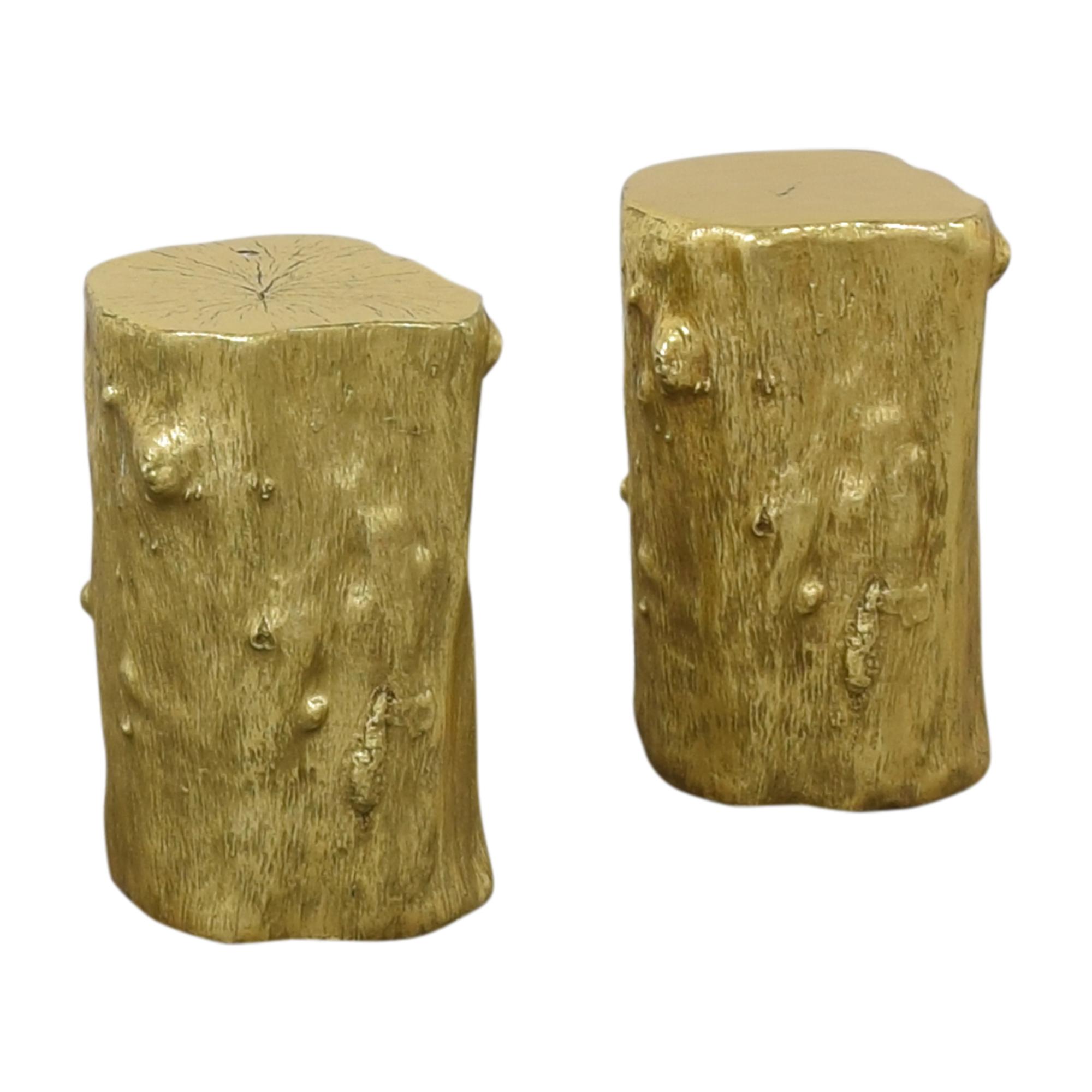 Decorative Log Stools pa