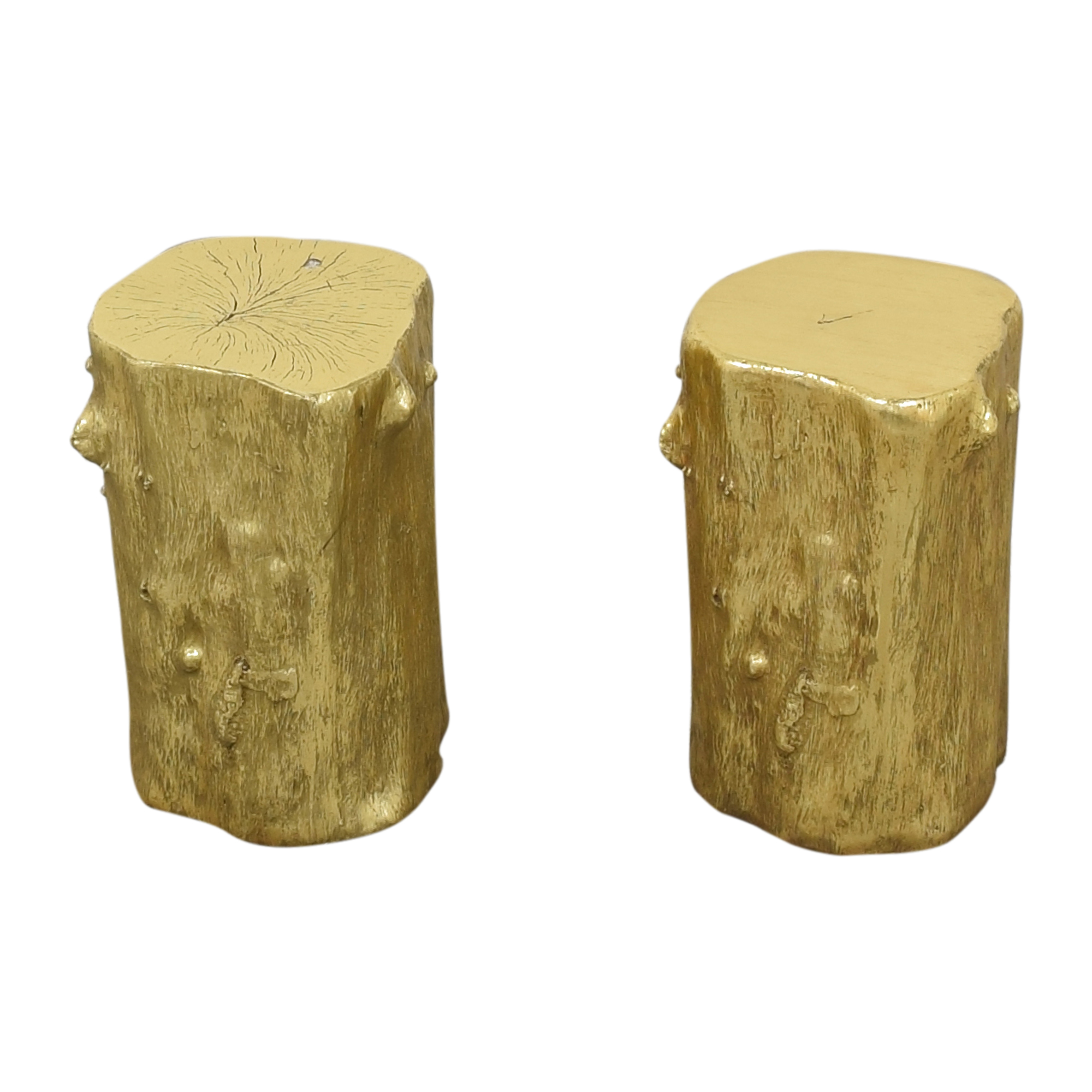 Decorative Log Stools