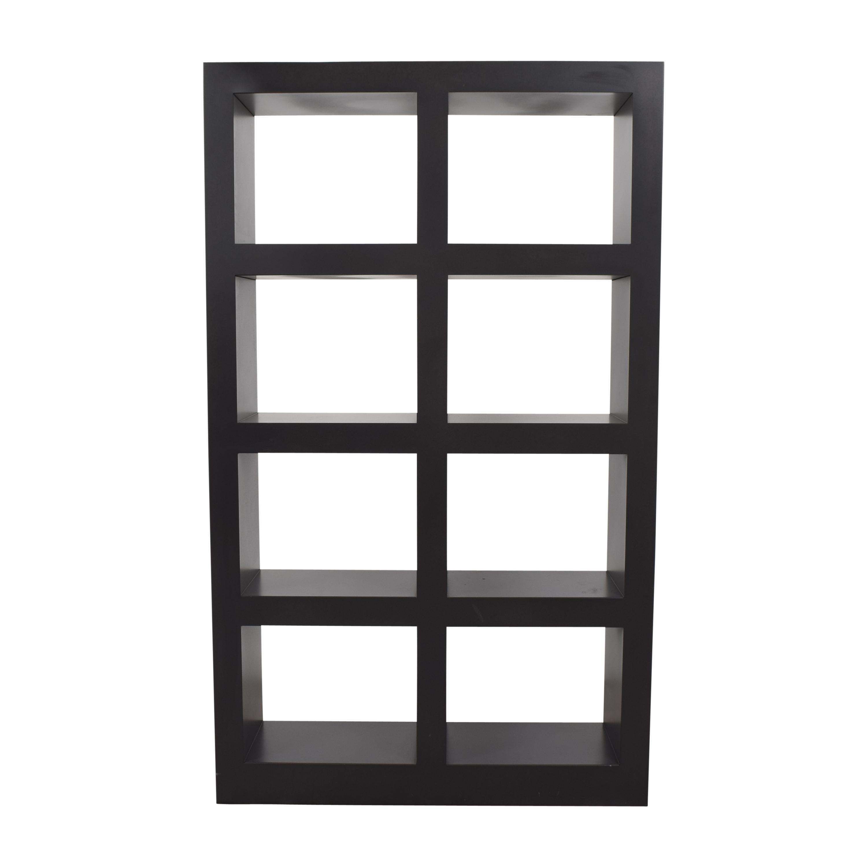 Crate & Barrel Crate & Barrel Shadow Box Tower  dimensions