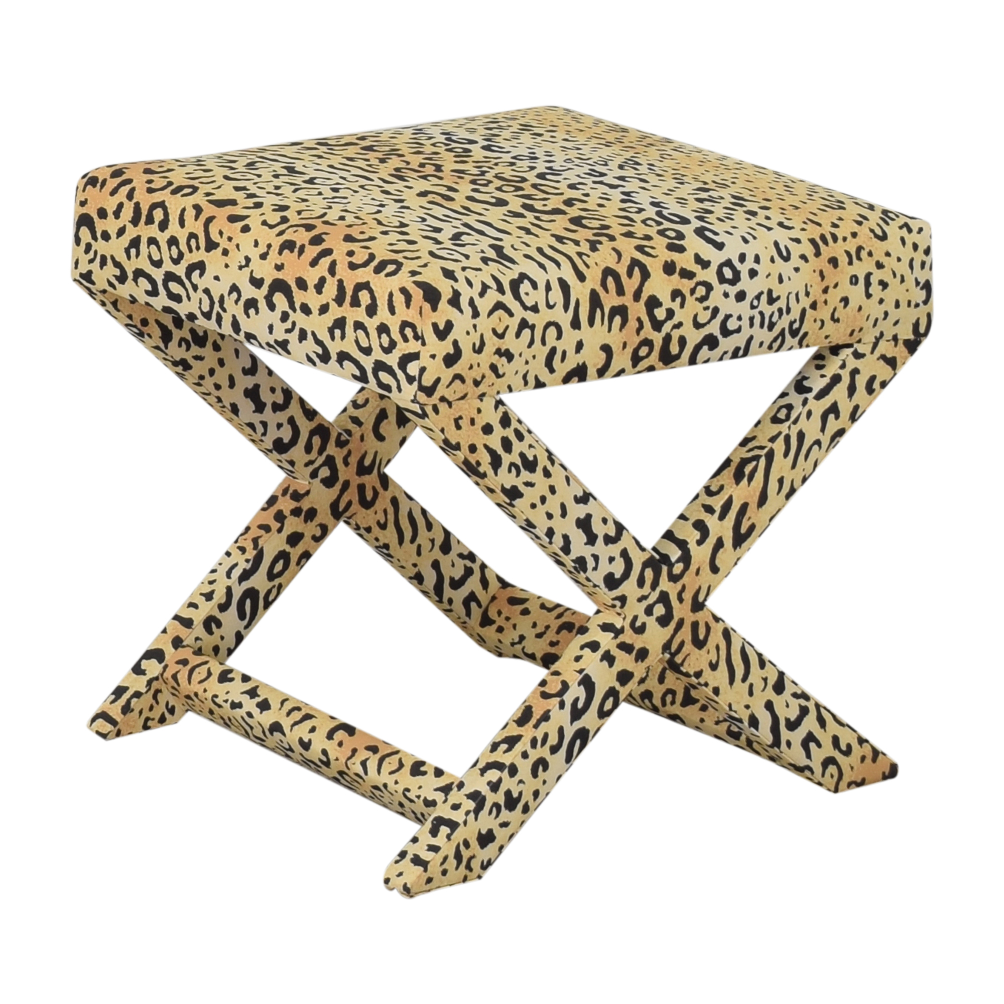 The Inside The Inside Leopard X Bench dimensions