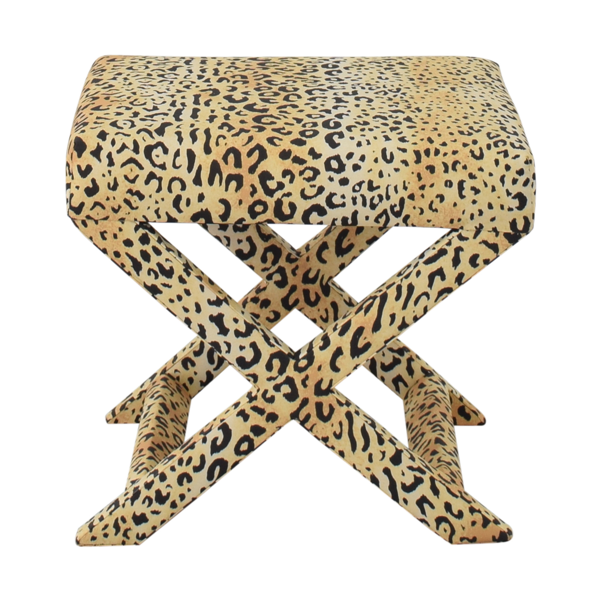 shop The Inside Leopard X Bench The Inside Benches