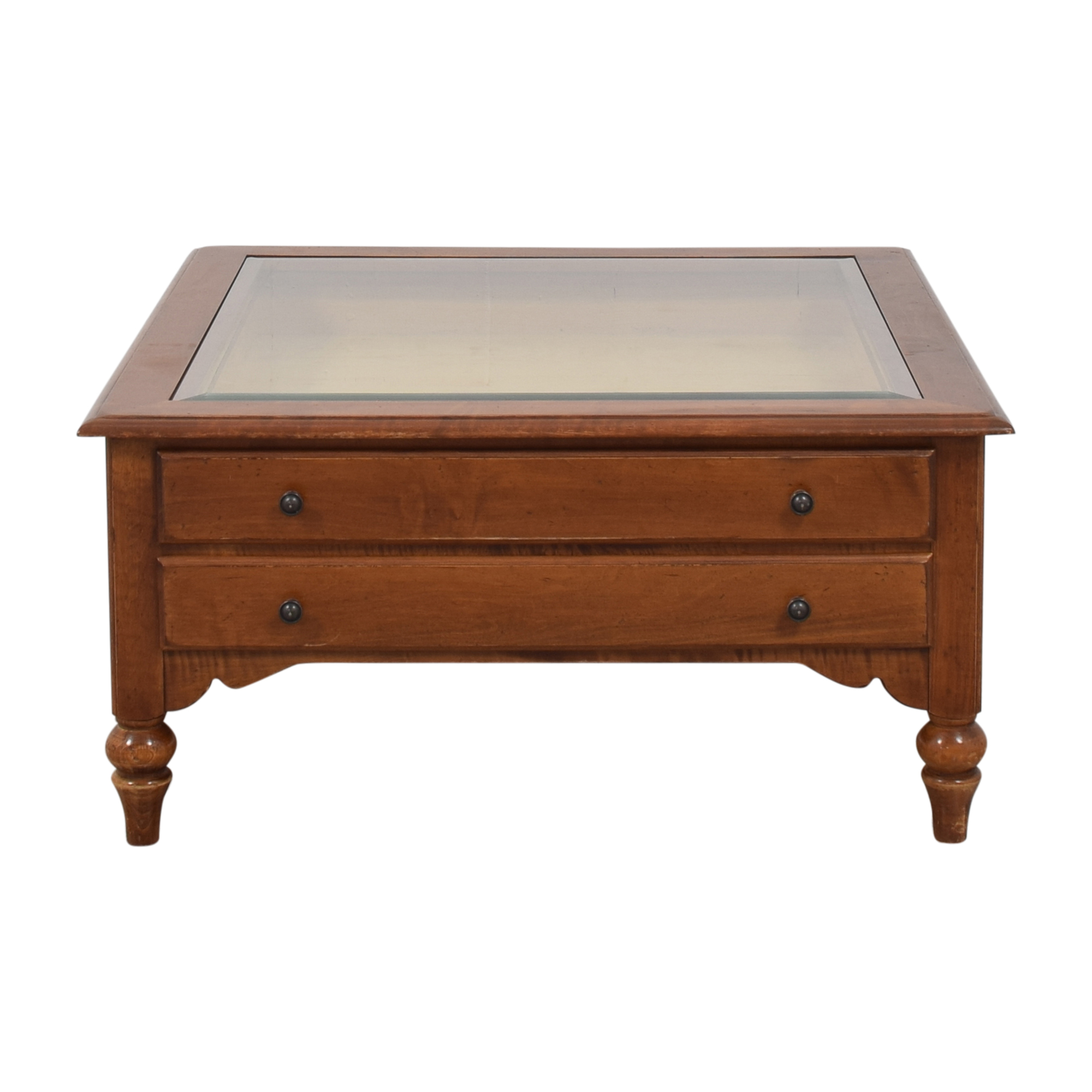 Ethan Allen Ethan Allen Country Crossing Curio Coffee Table for sale
