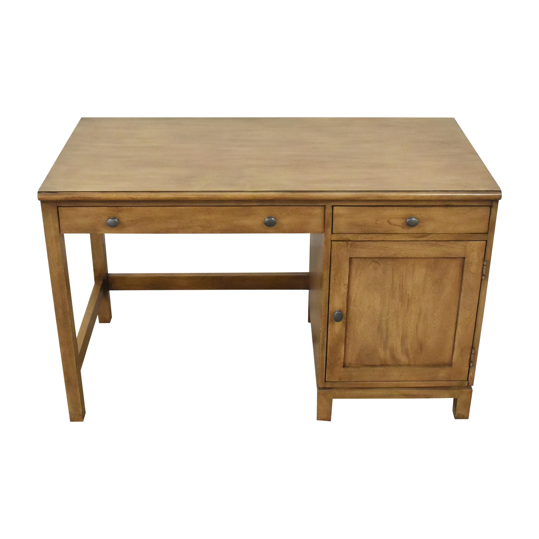 Ethan Allen Ethan Allen Pedestal Desk brown