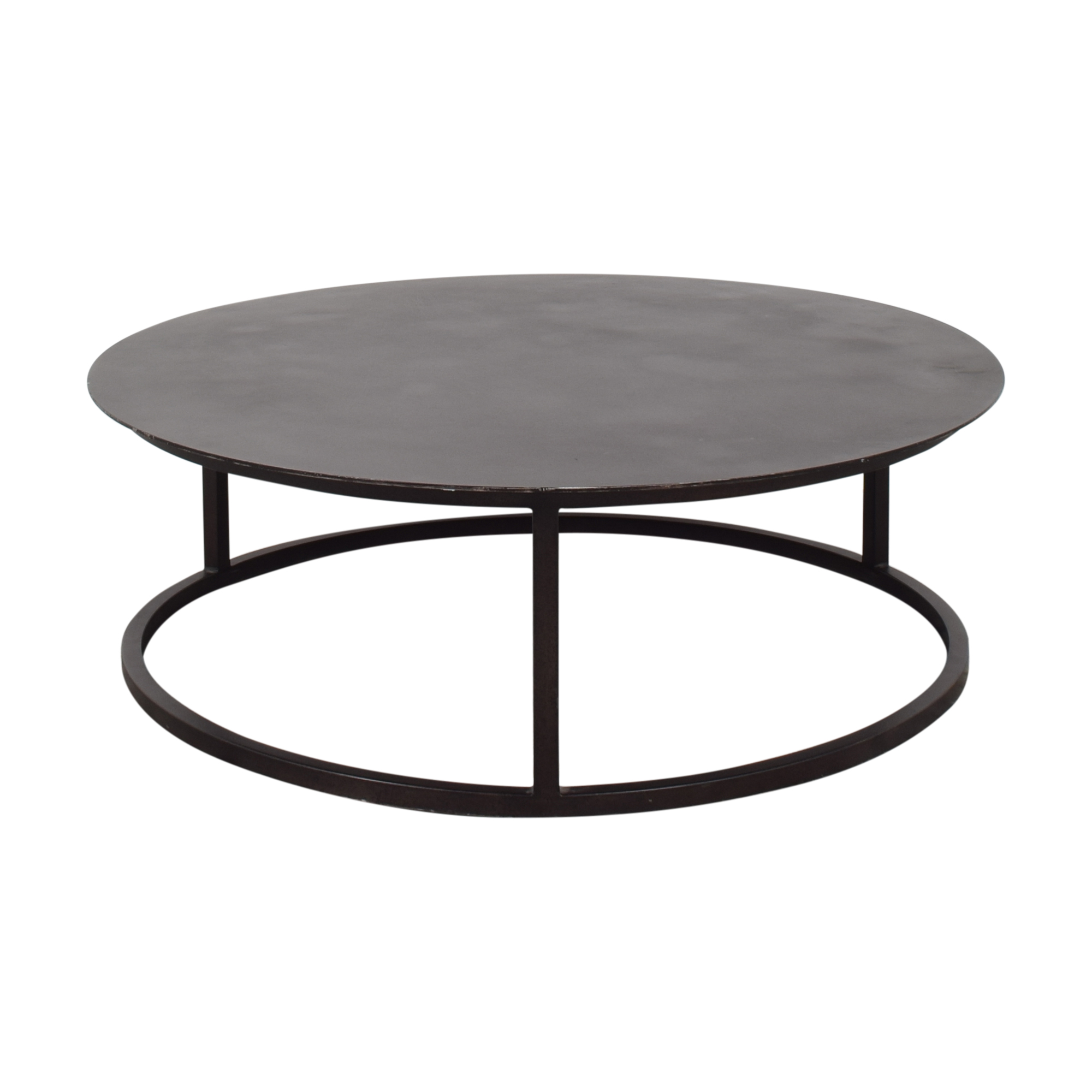 Restoration Hardware Restoration Hardware Mercer Round Coffee Table dimensions