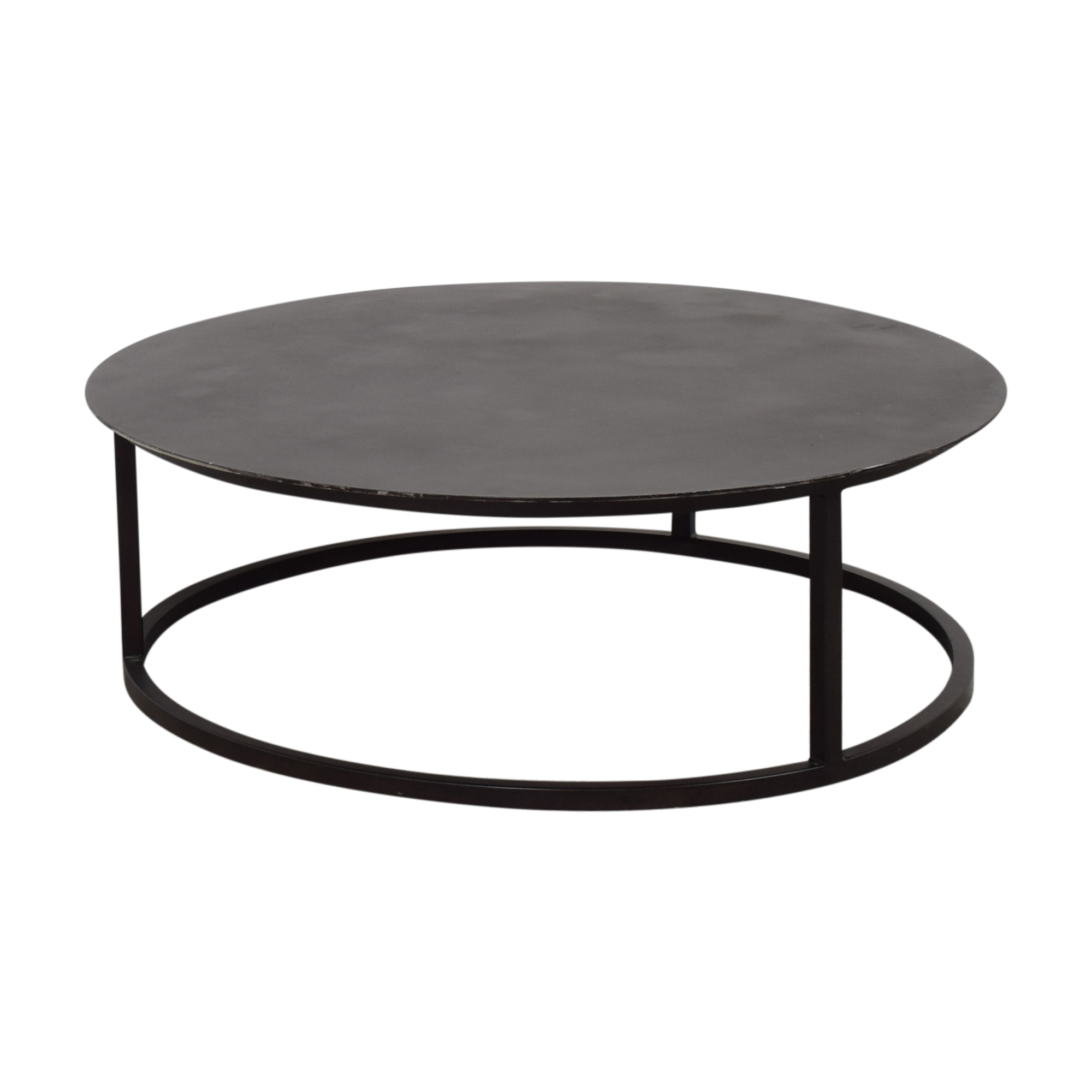 Restoration Hardware Mercer Round Coffee Table / Coffee Tables
