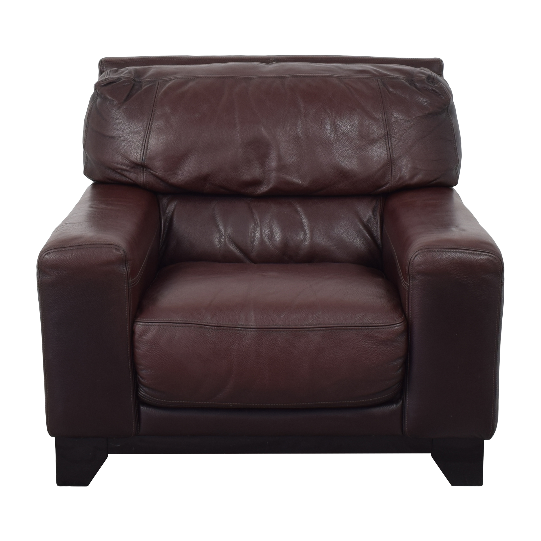 Macy's Macy's Modern Lounge Chair nj