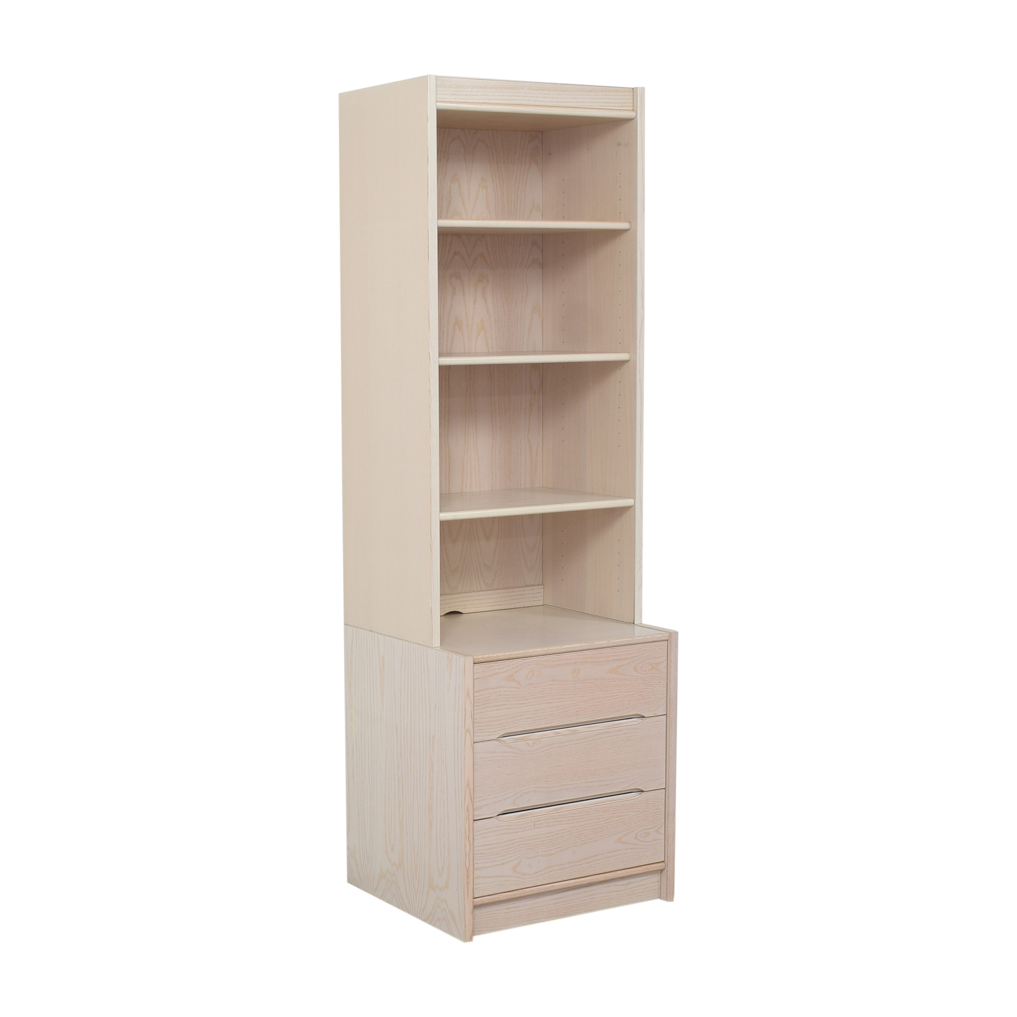 Door Store Door Store Bookcase with Three Drawers nj
