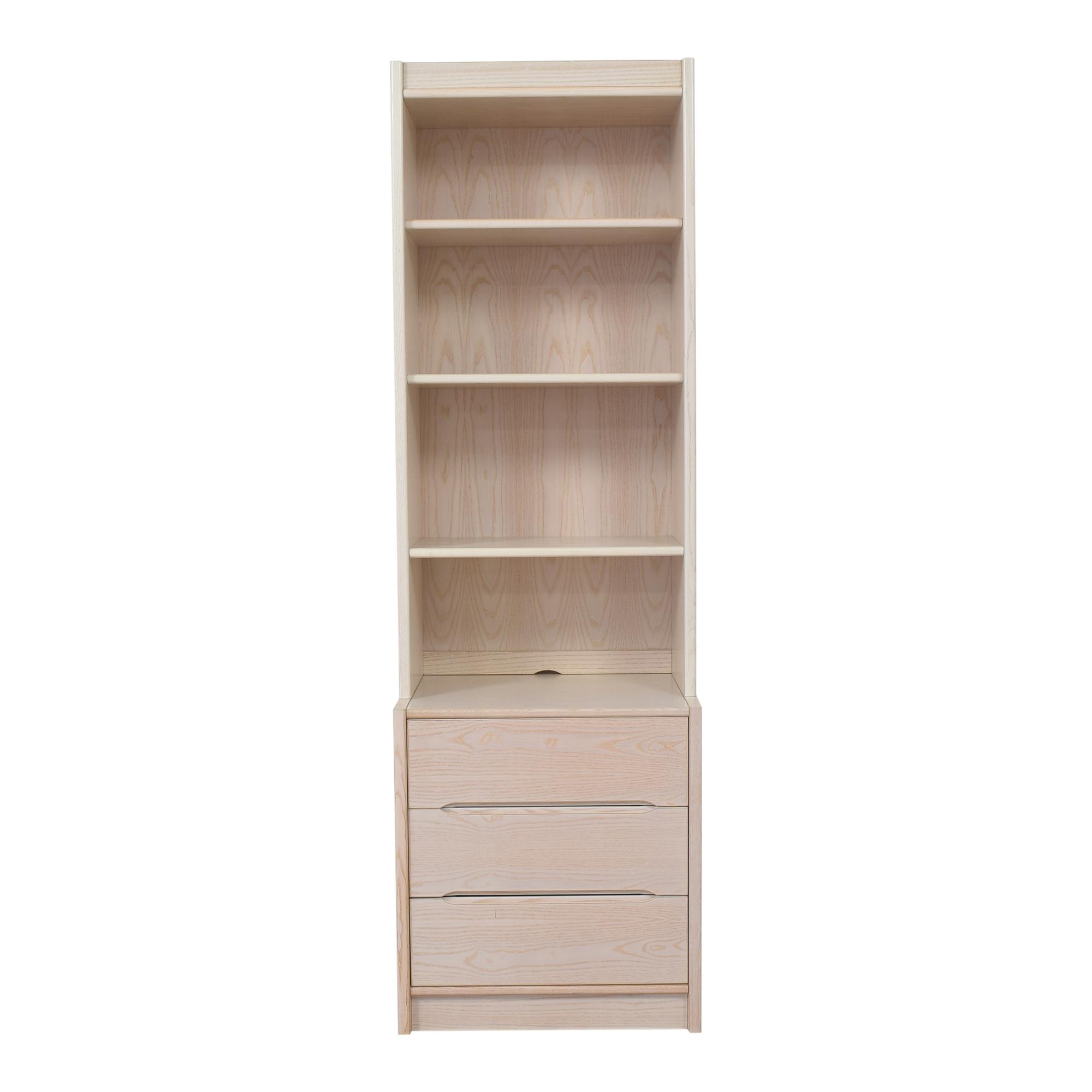 Door Store Door Store Bookcase with Three Drawers ct